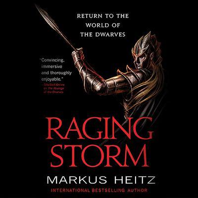 Raging Storm Audiobook, by Markus Heitz