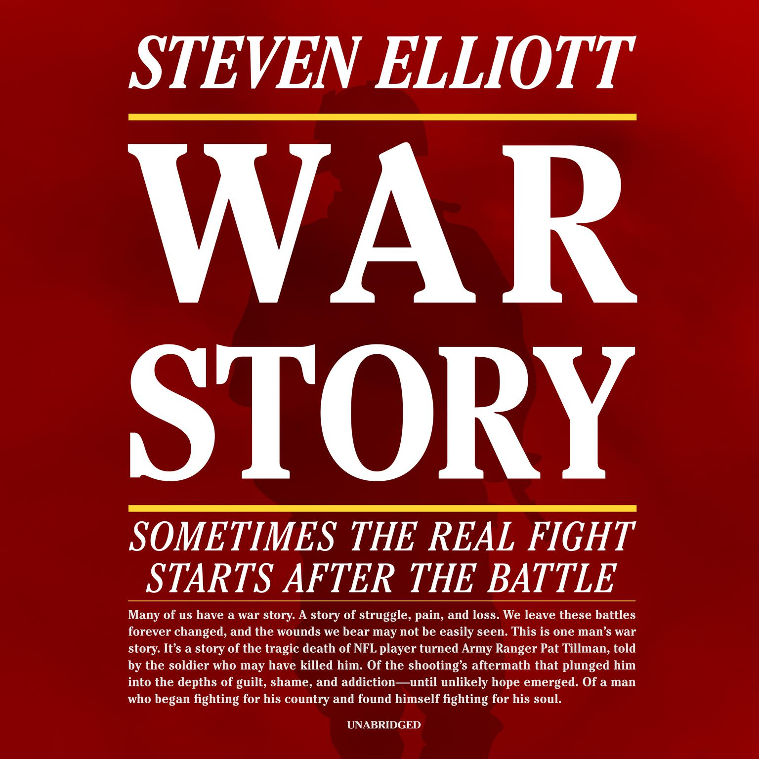 Printable War Story: Sometimes the Real Fight Starts after the Battle Audiobook Cover Art