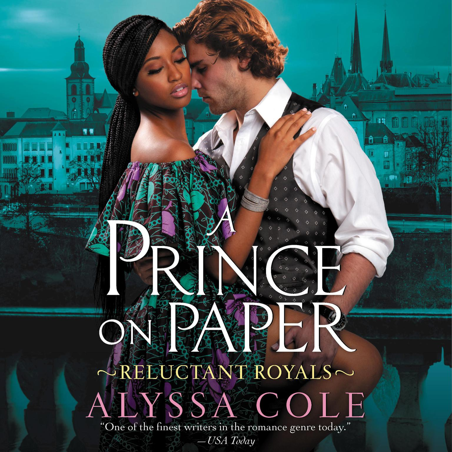 Printable A Prince on Paper: Reluctant Royals Audiobook Cover Art