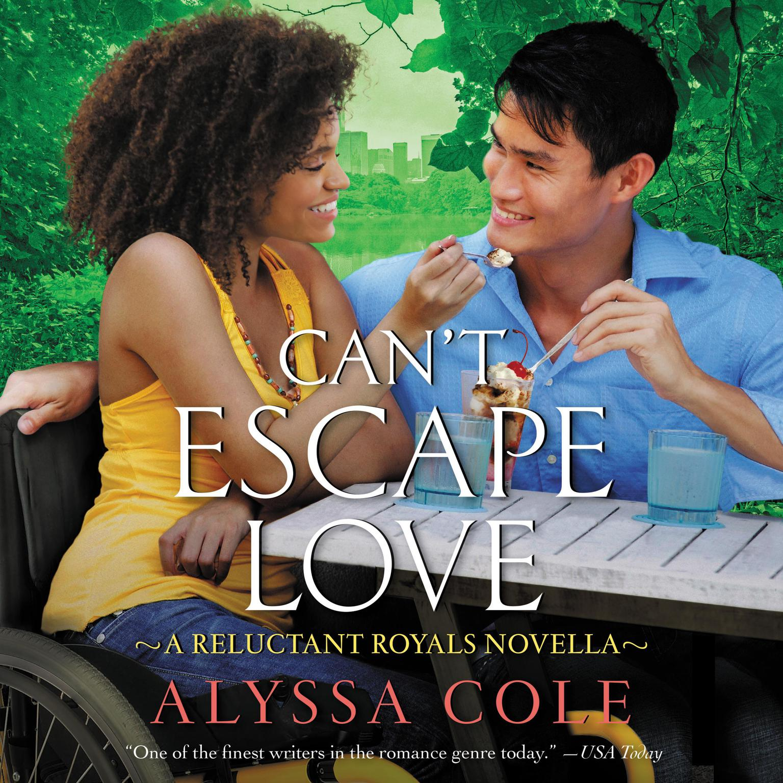 Printable Can't Escape Love: A Reluctant Royals Novella Audiobook Cover Art