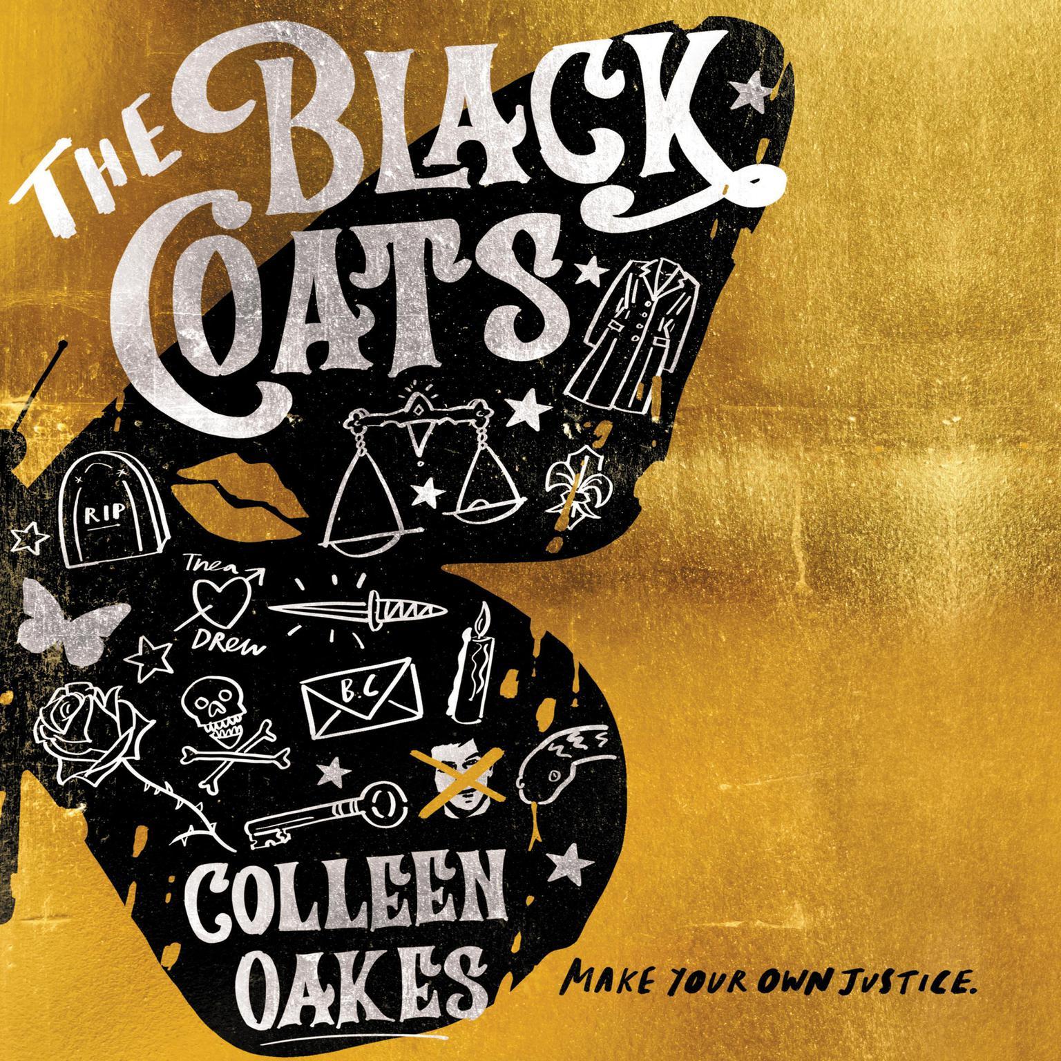 Printable The Black Coats Audiobook Cover Art