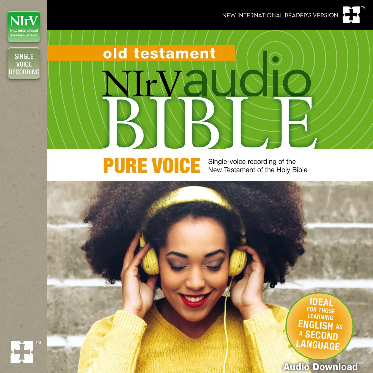 Printable Pure Voice Audio Bible - New International Reader's Version, NIrV: Old Testament Audiobook Cover Art