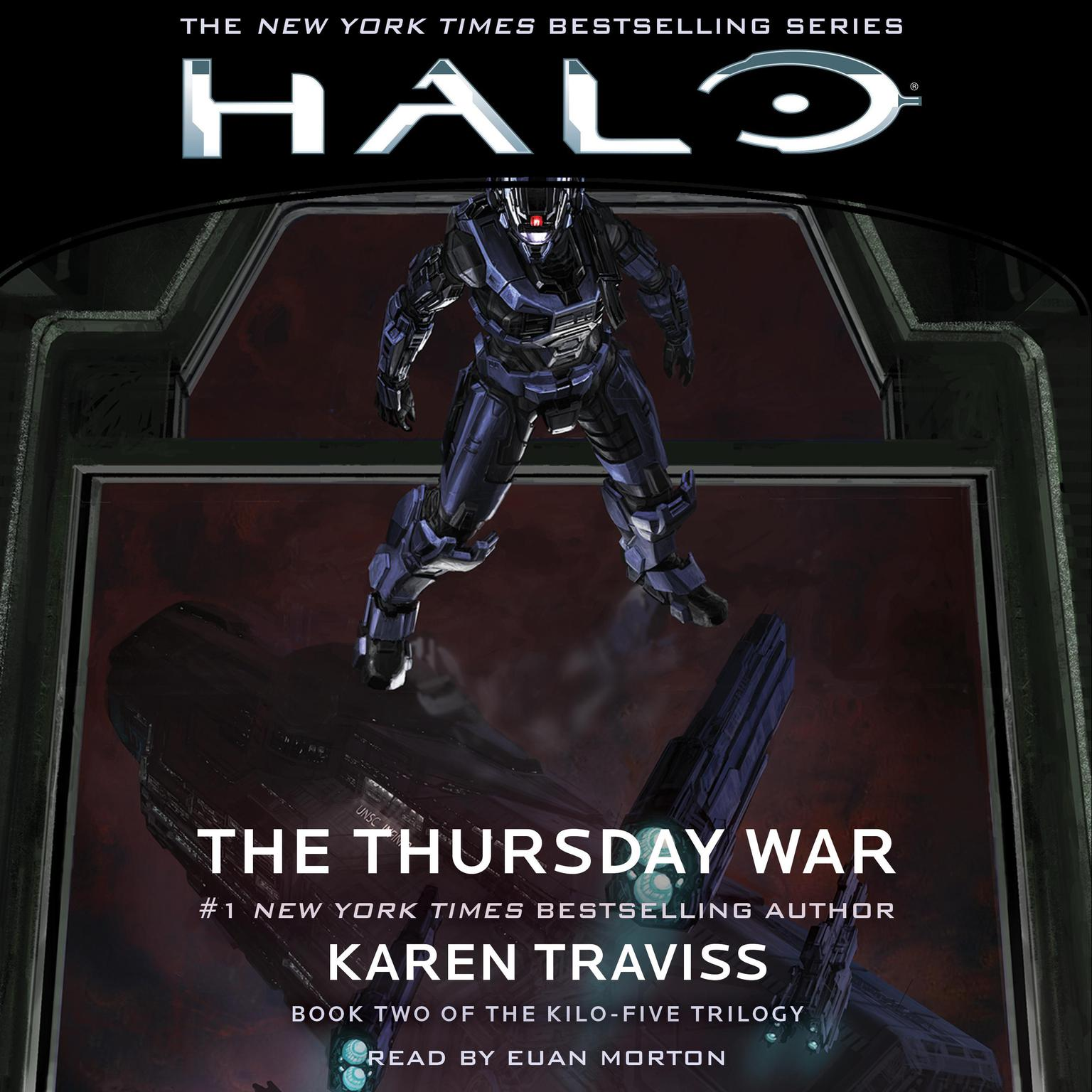 Printable HALO: The Thursday War Audiobook Cover Art