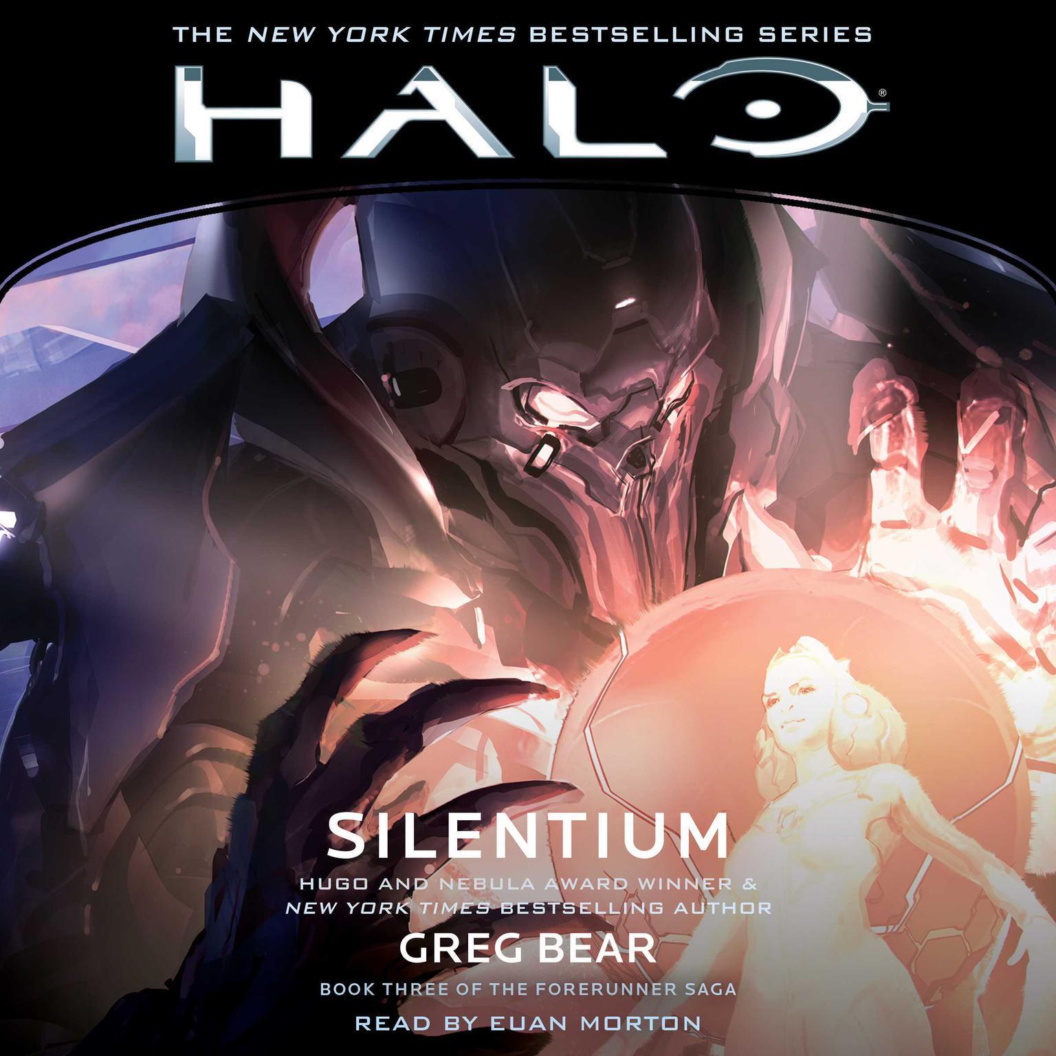 Printable HALO: Silentium Audiobook Cover Art
