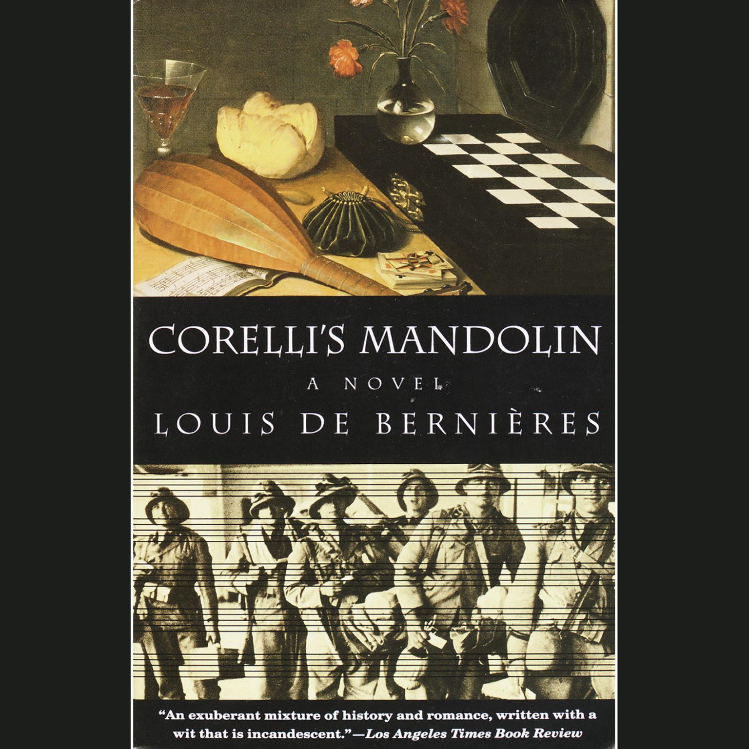 Printable Corelli's Mandolin: A Novel Audiobook Cover Art
