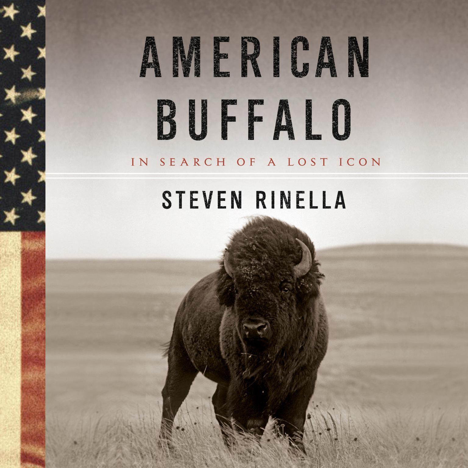 Printable American Buffalo: In Search of a Lost Icon Audiobook Cover Art