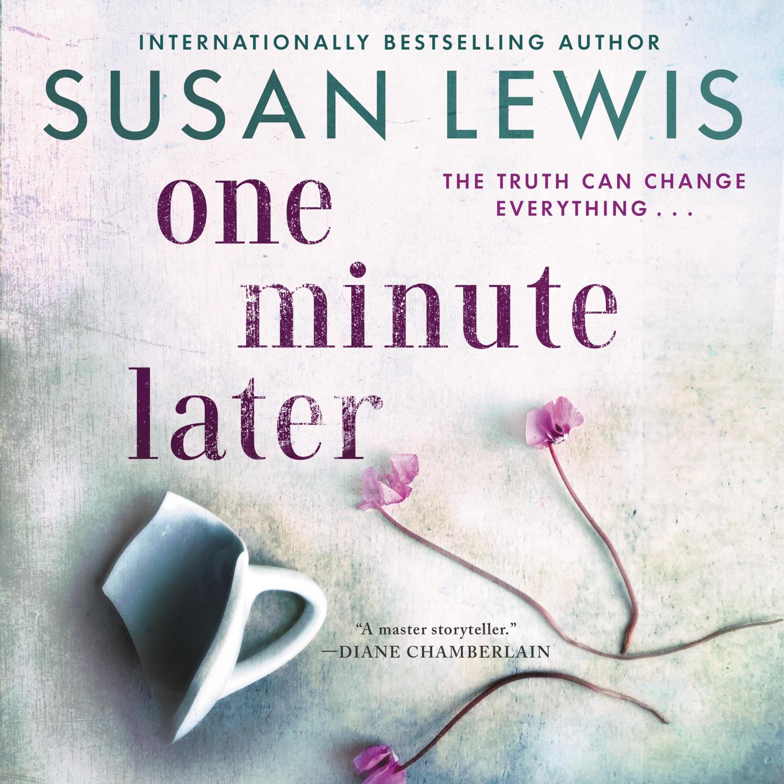 Printable One Minute Later: A Novel Audiobook Cover Art