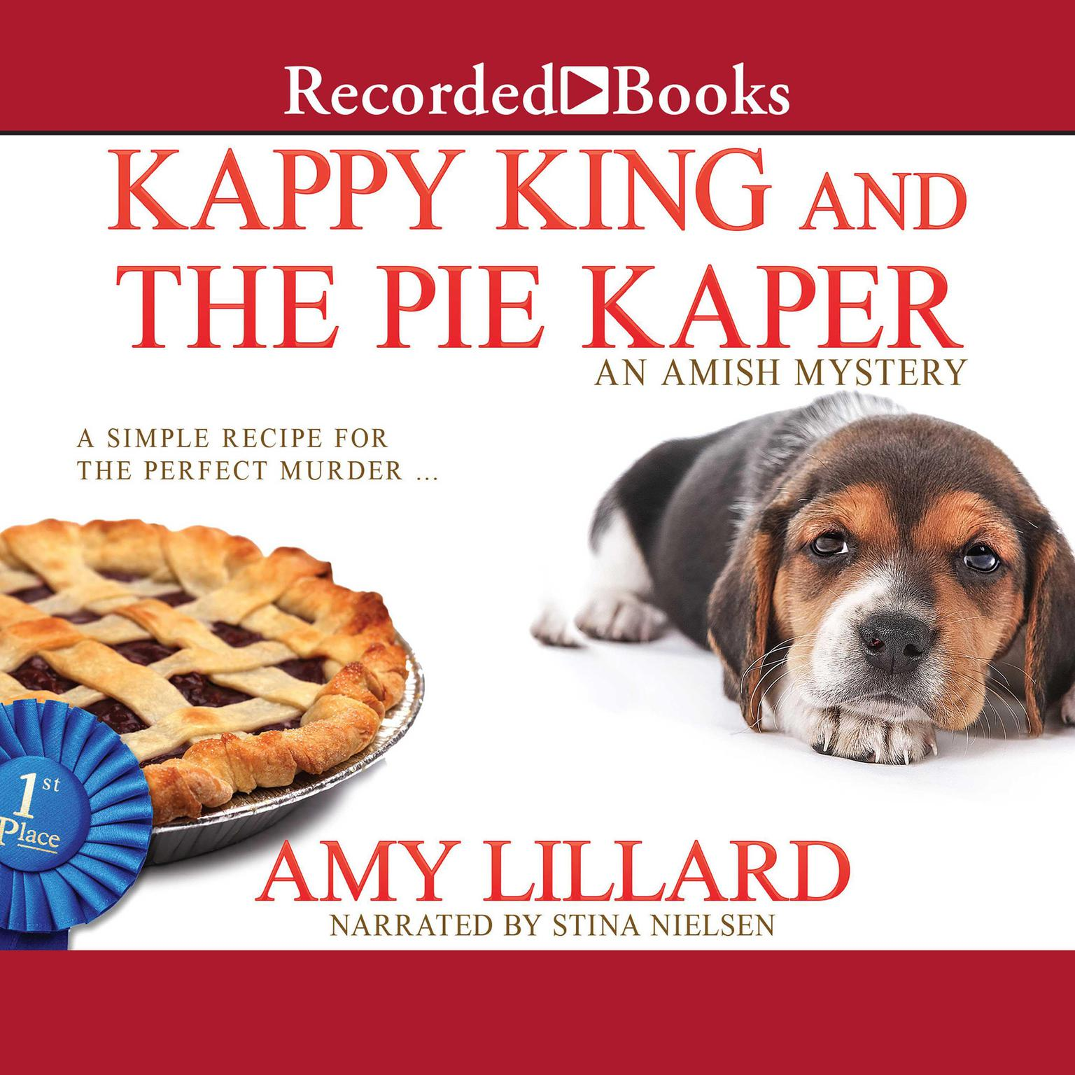 Printable Kappy King and the Pie Kaper Audiobook Cover Art