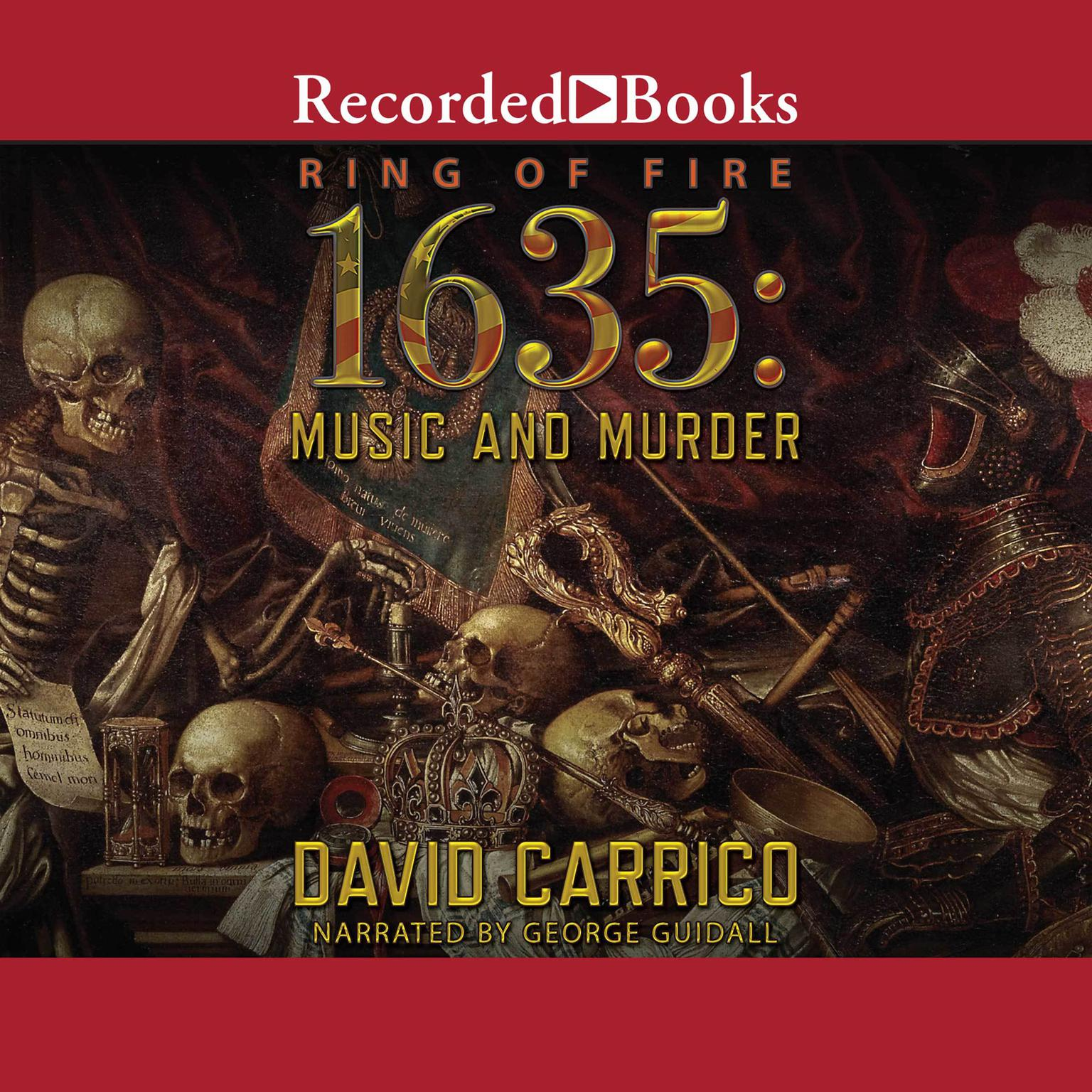 Printable 1635: Music and Murder Audiobook Cover Art
