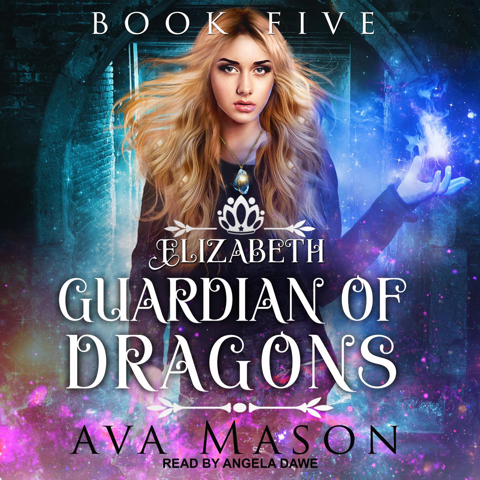 Printable Elizabeth, Guardian of Dragons: A Reverse Harem Paranormal Romance Audiobook Cover Art