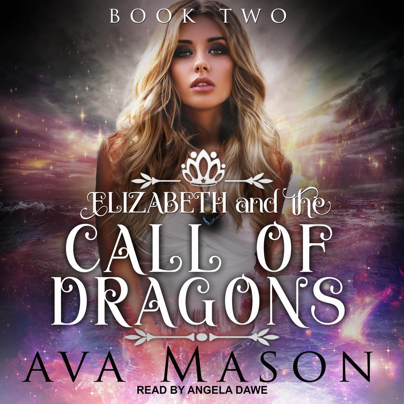 Printable Elizabeth and the Call of Dragons: A Reverse Harem Paranormal Romance Audiobook Cover Art