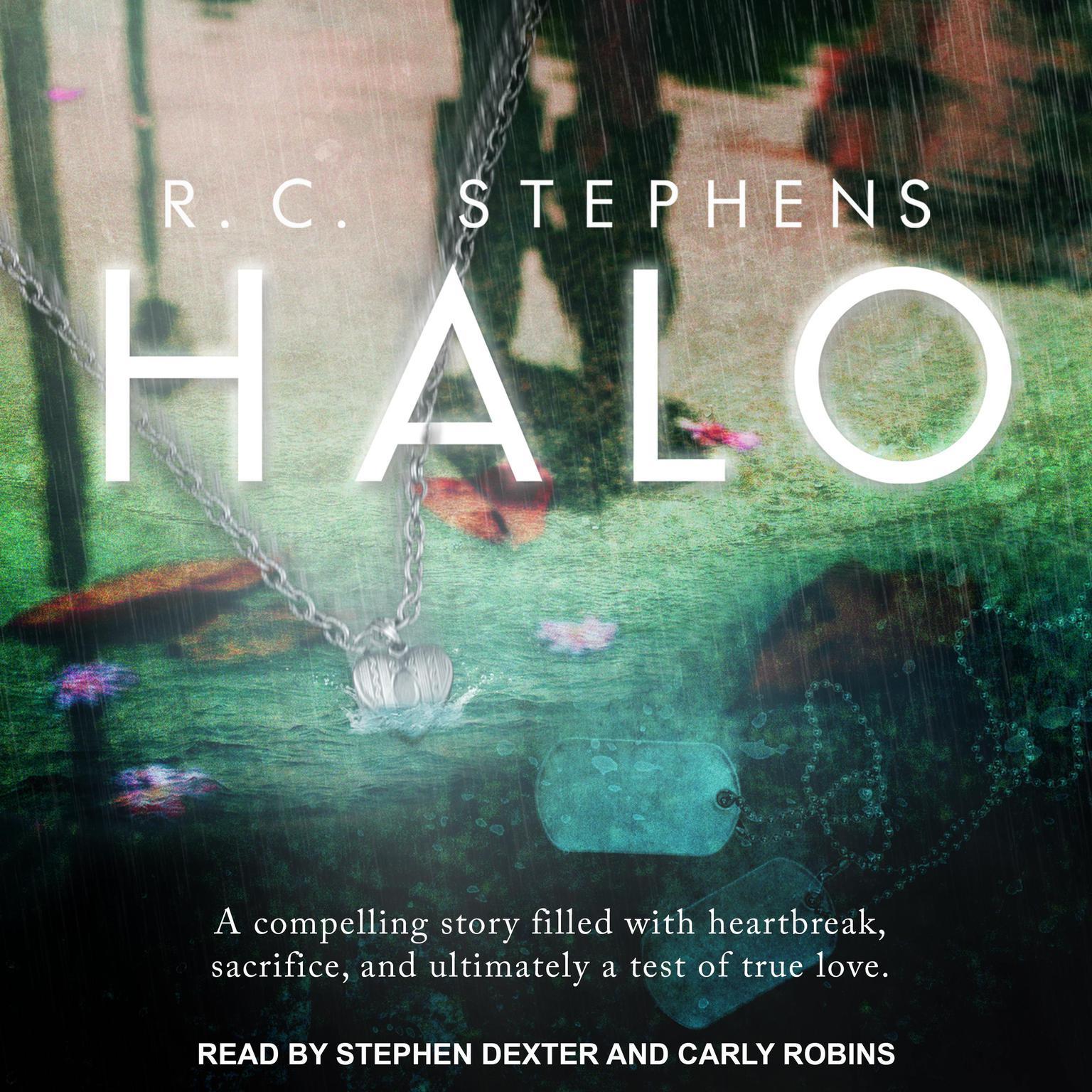 Printable Halo Audiobook Cover Art
