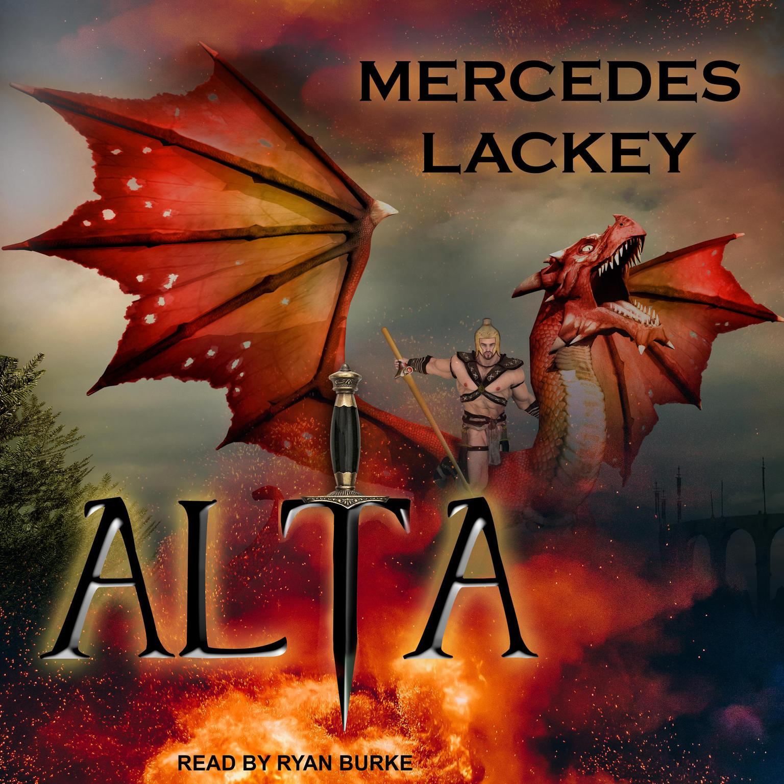Printable Alta Audiobook Cover Art
