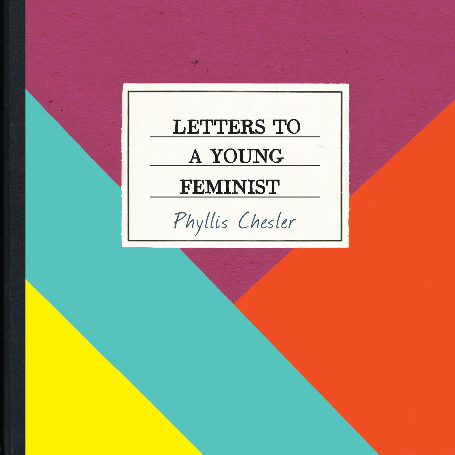 Printable Letters to a Young Feminist Audiobook Cover Art