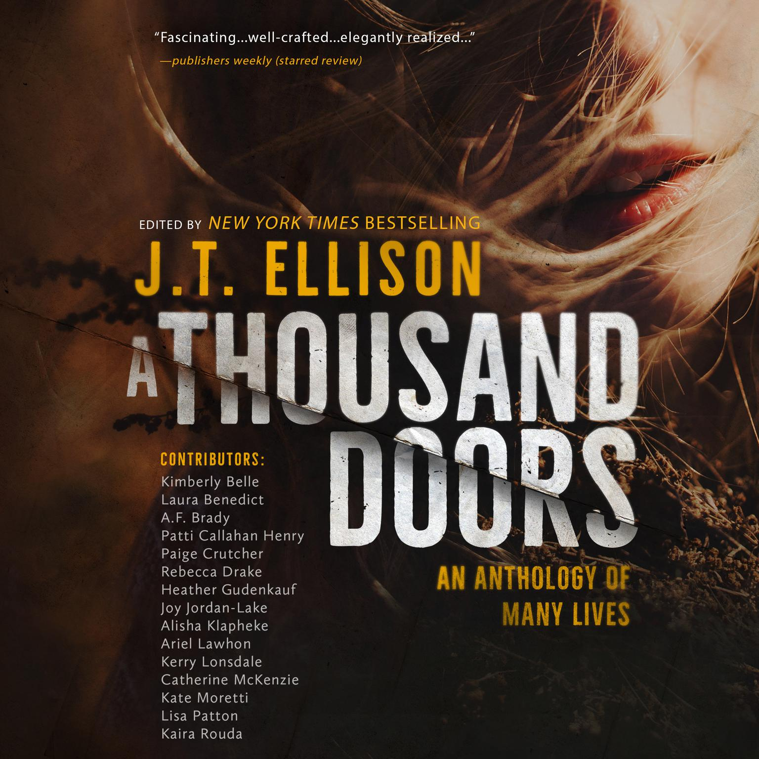 Printable A Thousand Doors: An Anthology of Many Lives Audiobook Cover Art