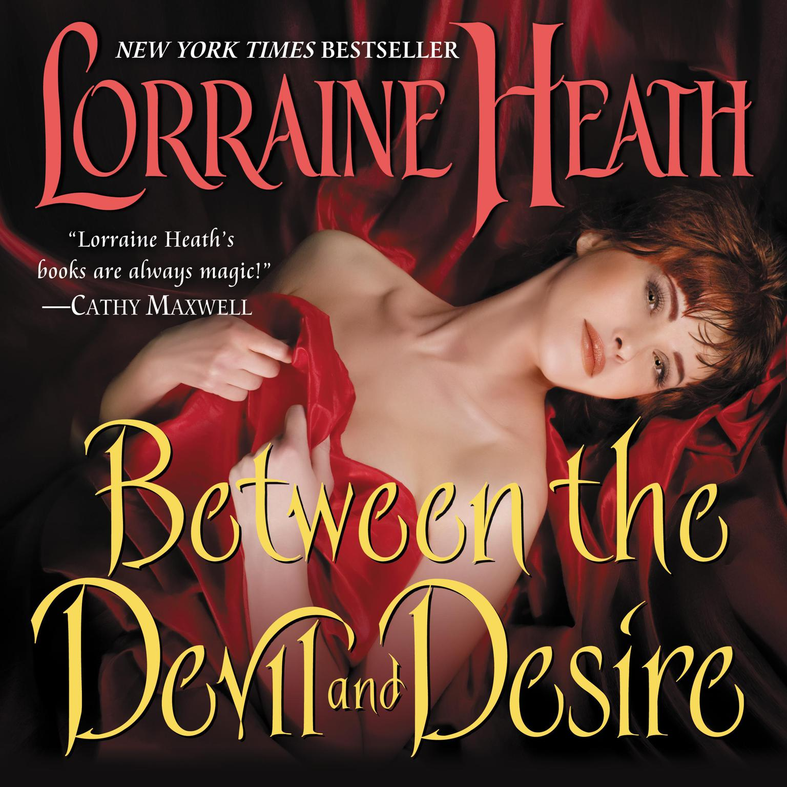 Printable Between the Devil and Desire Audiobook Cover Art