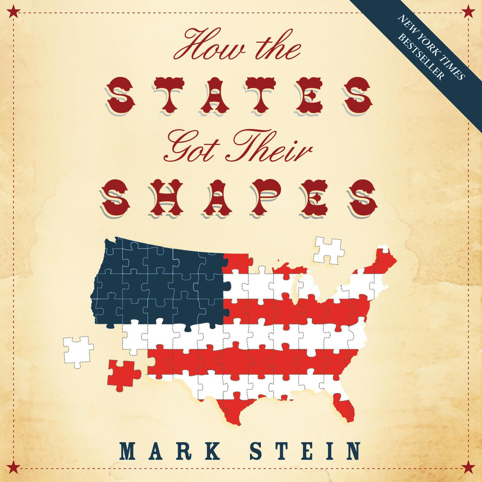 Printable How the States Got Their Shapes Audiobook Cover Art