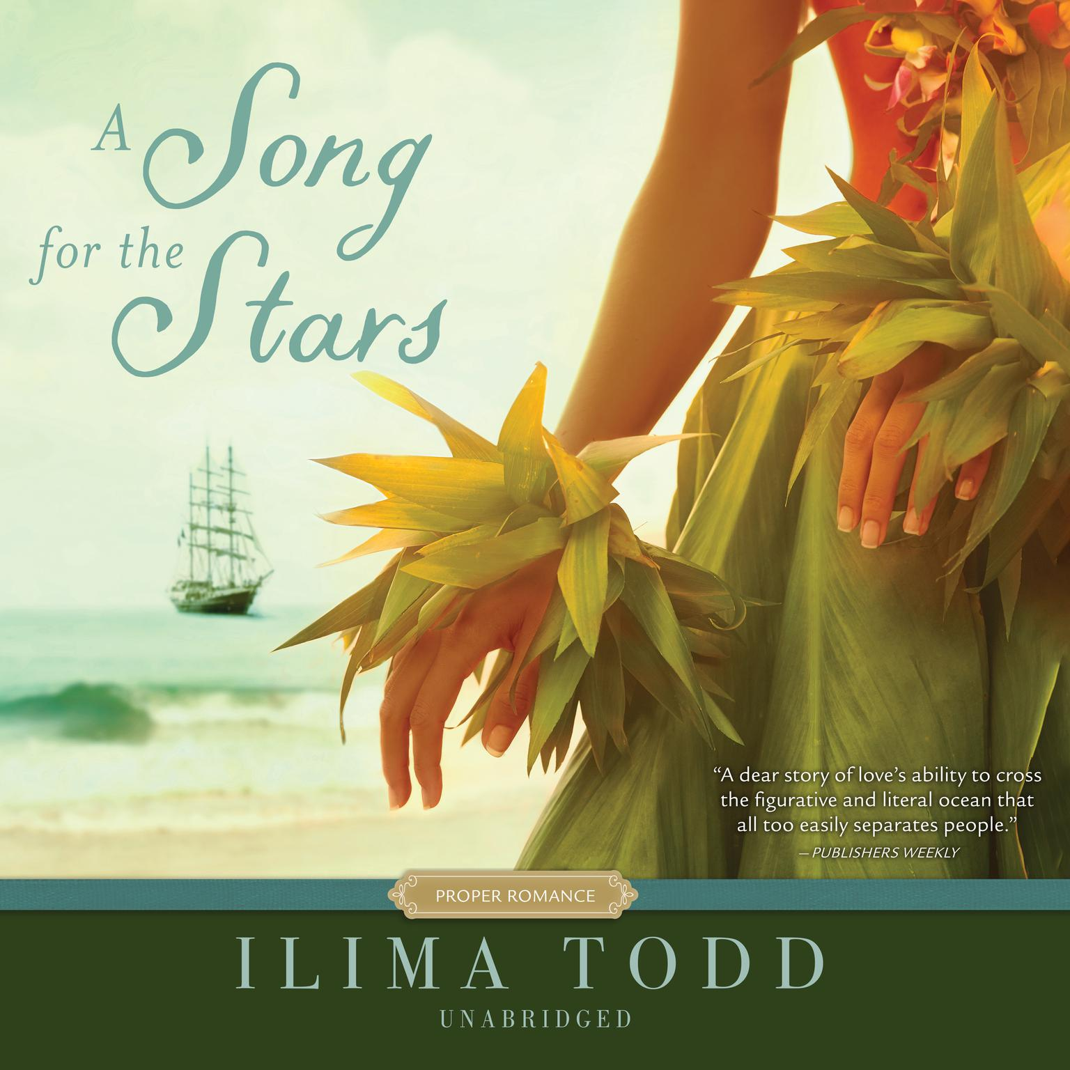 Printable A Song for the Stars Audiobook Cover Art