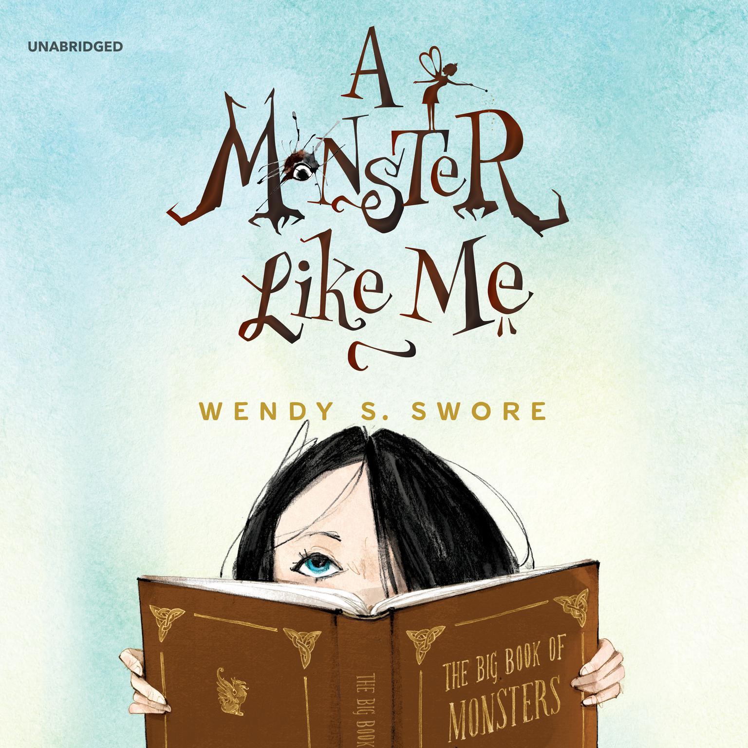 Printable A Monster like Me Audiobook Cover Art