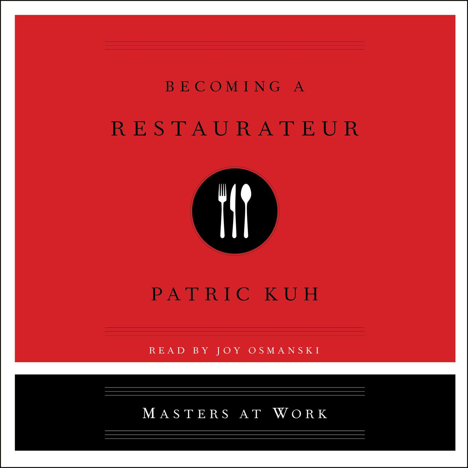 Printable Becoming A Restaurateur Audiobook Cover Art