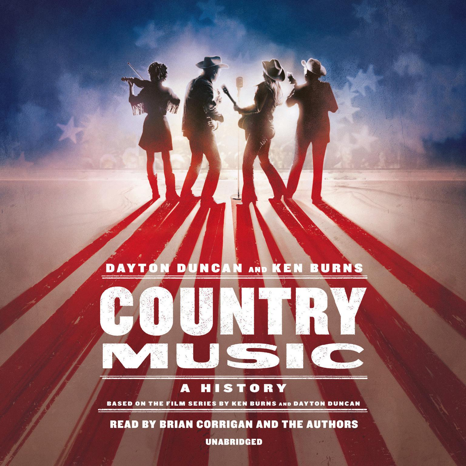 Printable Country Music: A History Audiobook Cover Art