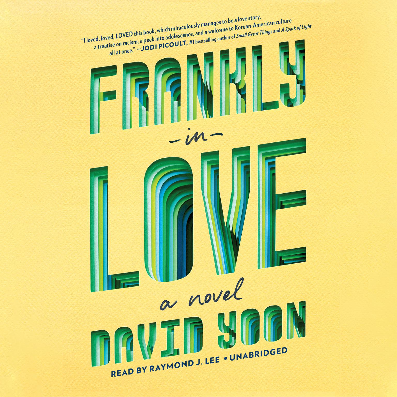 Printable Frankly in Love Audiobook Cover Art