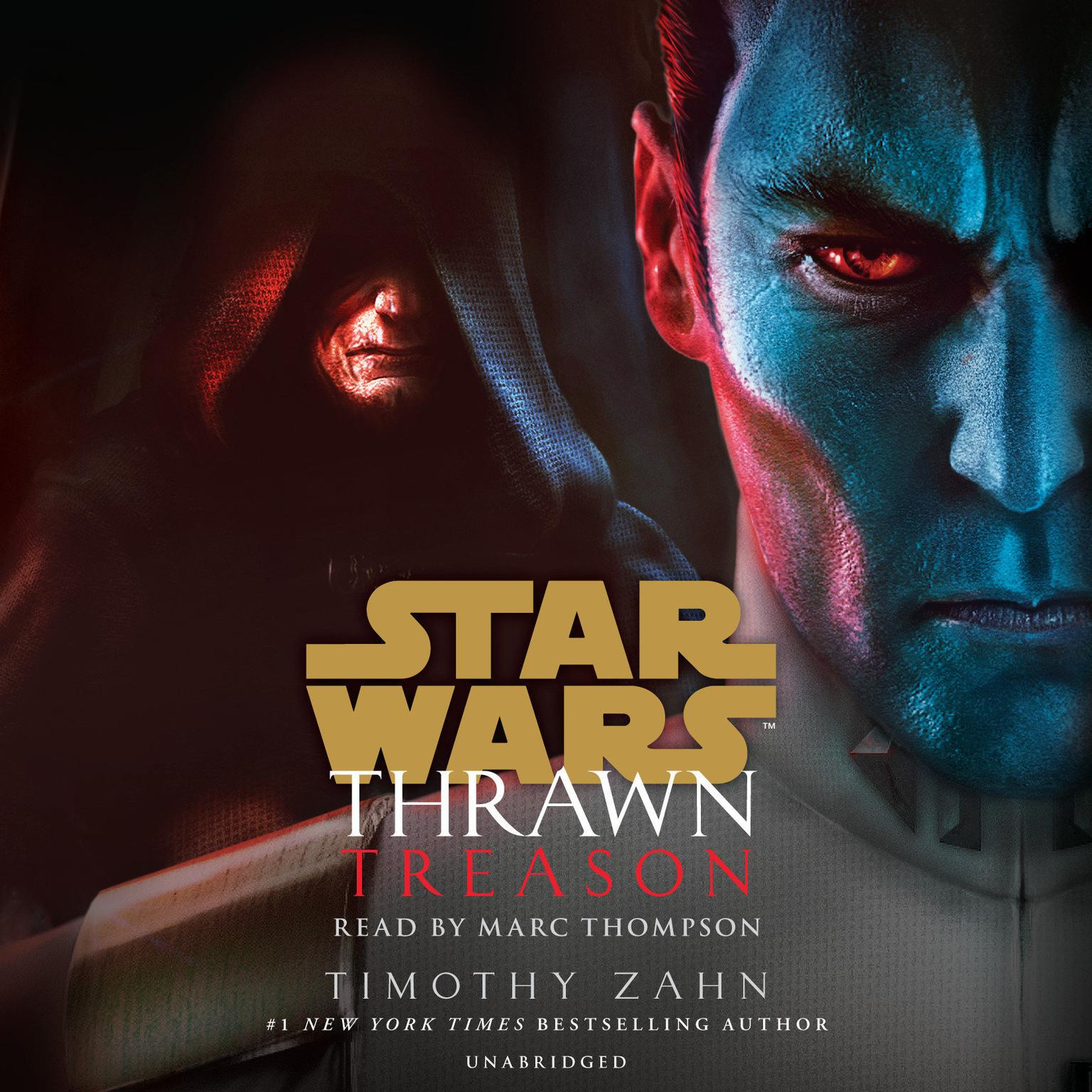 Printable Thrawn: Treason (Star Wars) Audiobook Cover Art