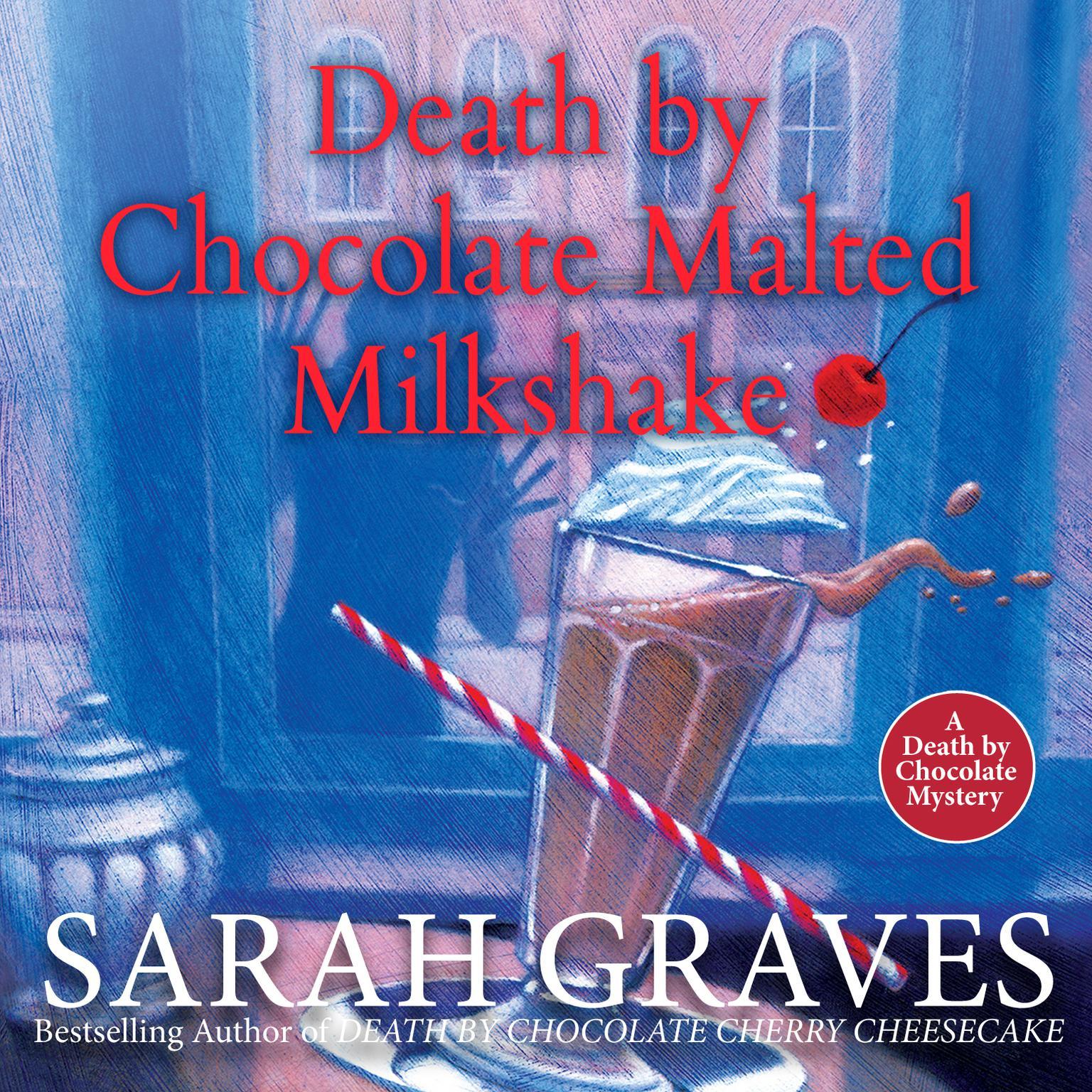 Printable Death by Chocolate Malted Milkshake Audiobook Cover Art