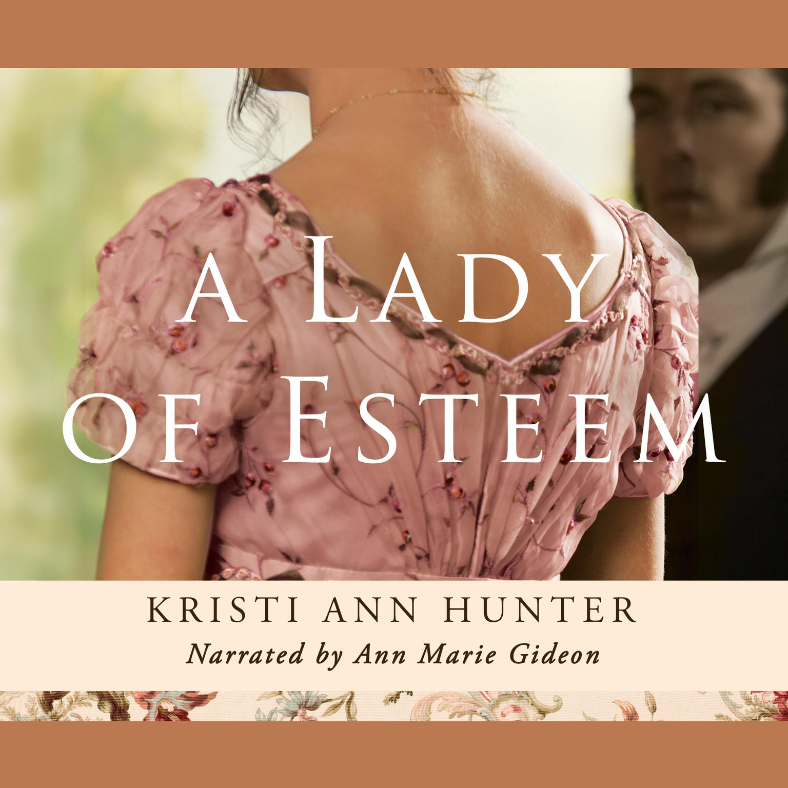Printable A Lady of Esteem Audiobook Cover Art