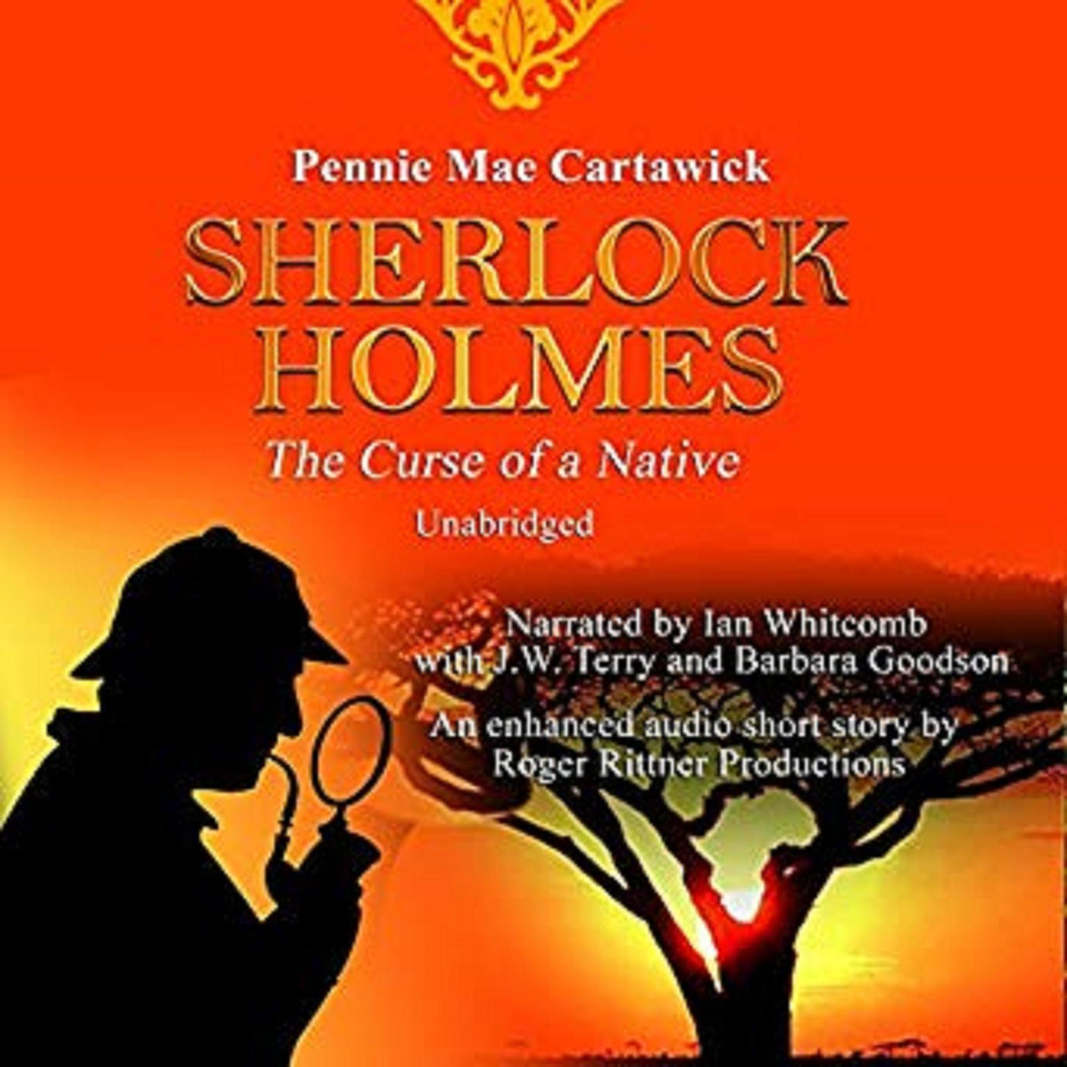 Printable Sherlock Holmes: The Curse of a Native: A Short Mystery  Audiobook Cover Art