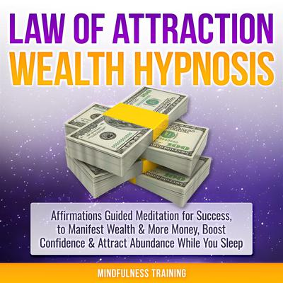 Money Magnet Hypnosis: Manifest Wealth, Money, & Attract Abundance While You Sleep (Law of Attraction, New Age, Financial Success Sleep Series) Audiobook, by Mindfulness Training