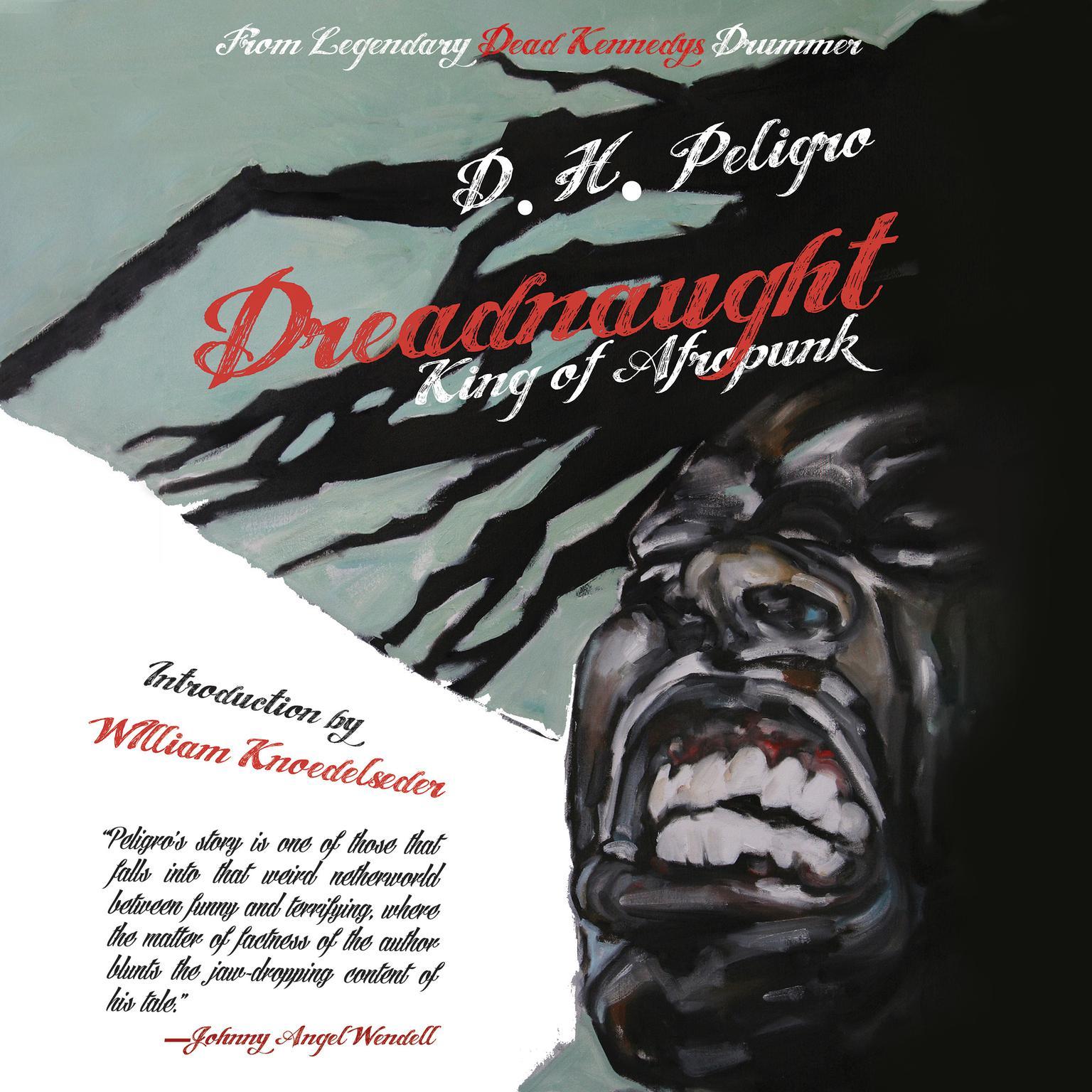 Printable Dreadnaught: King of Afropunk Audiobook Cover Art