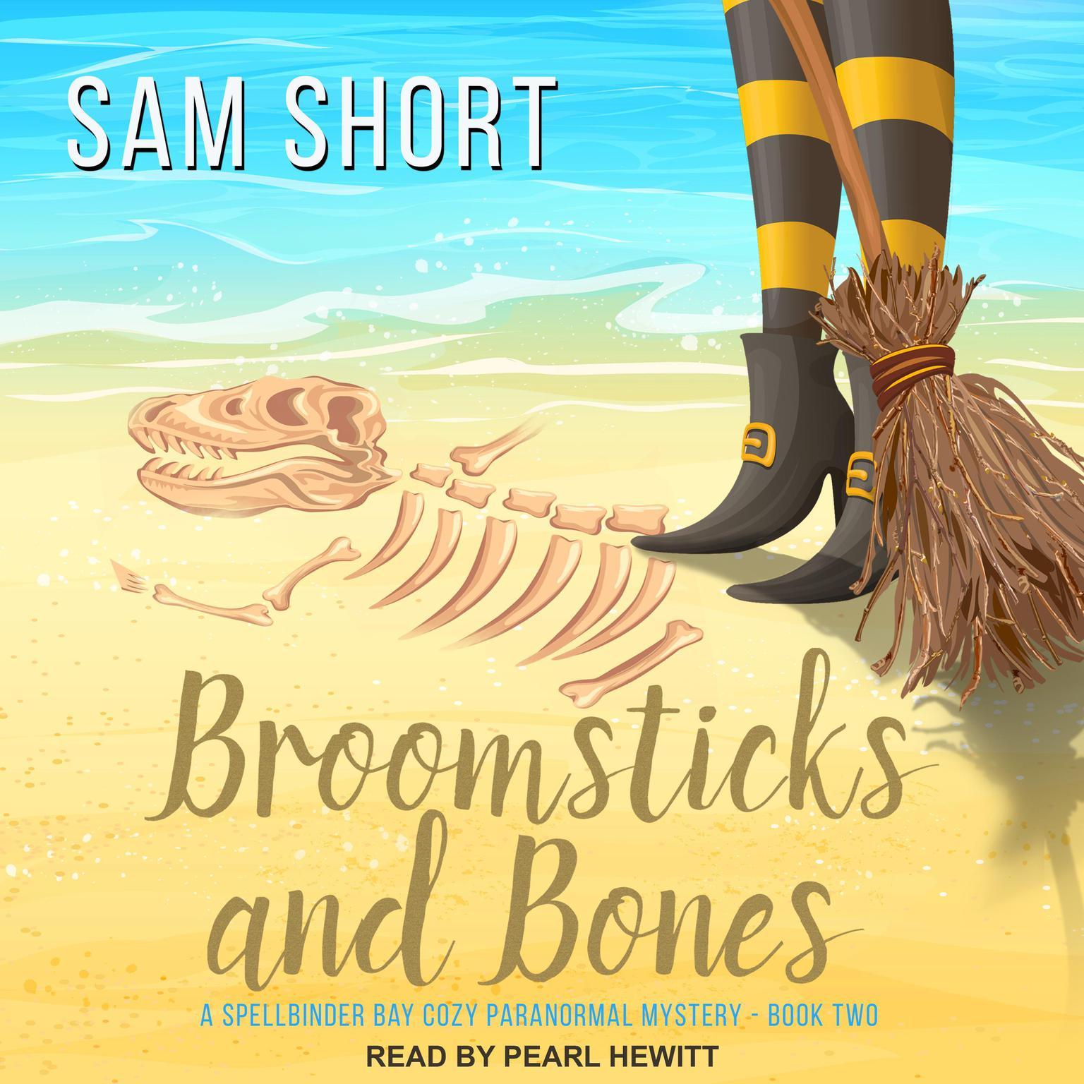 Printable Broomsticks And Bones Audiobook Cover Art