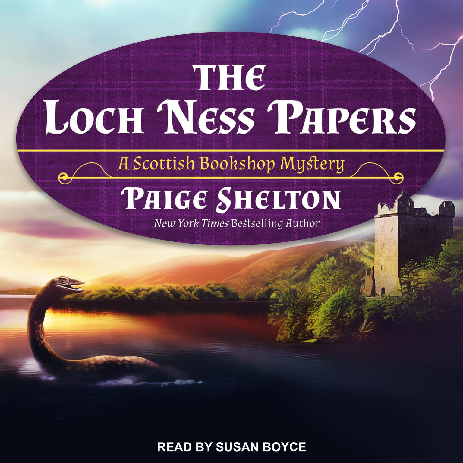 The Loch Ness Papers Audiobook, by Paige Shelton
