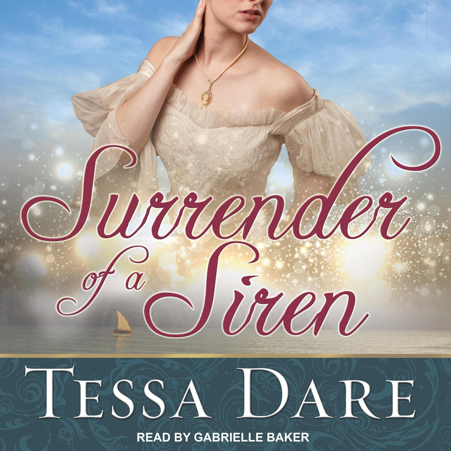Printable Surrender of a Siren Audiobook Cover Art