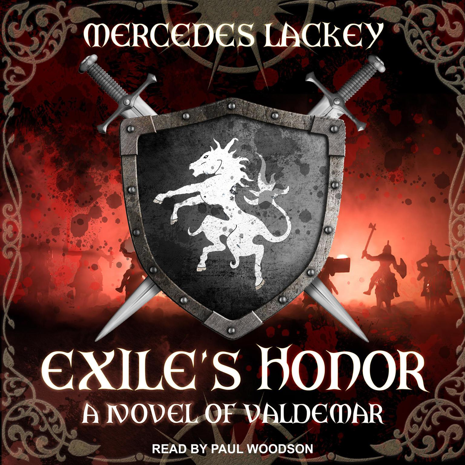 Printable Exile's Honor: A Novel of Valdemar Audiobook Cover Art