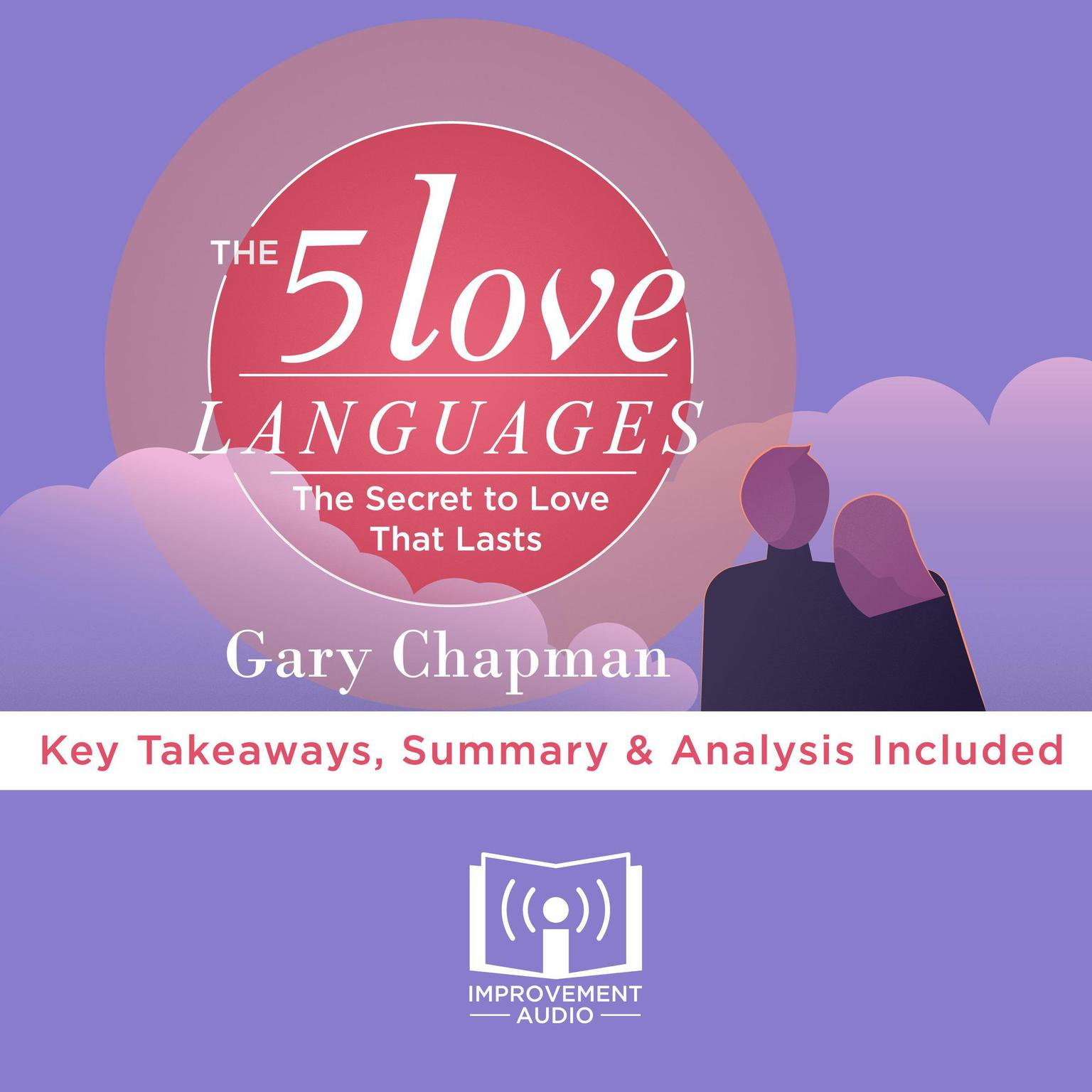 Printable The 5 Love Languages by Gary Chapman Audiobook Cover Art