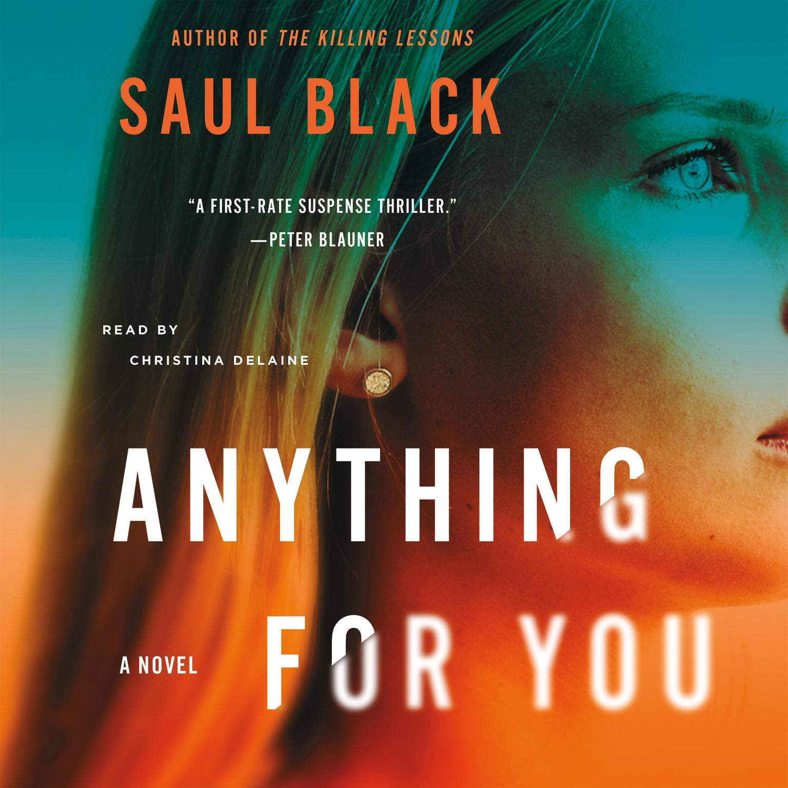 Printable Anything for You: A Novel Audiobook Cover Art