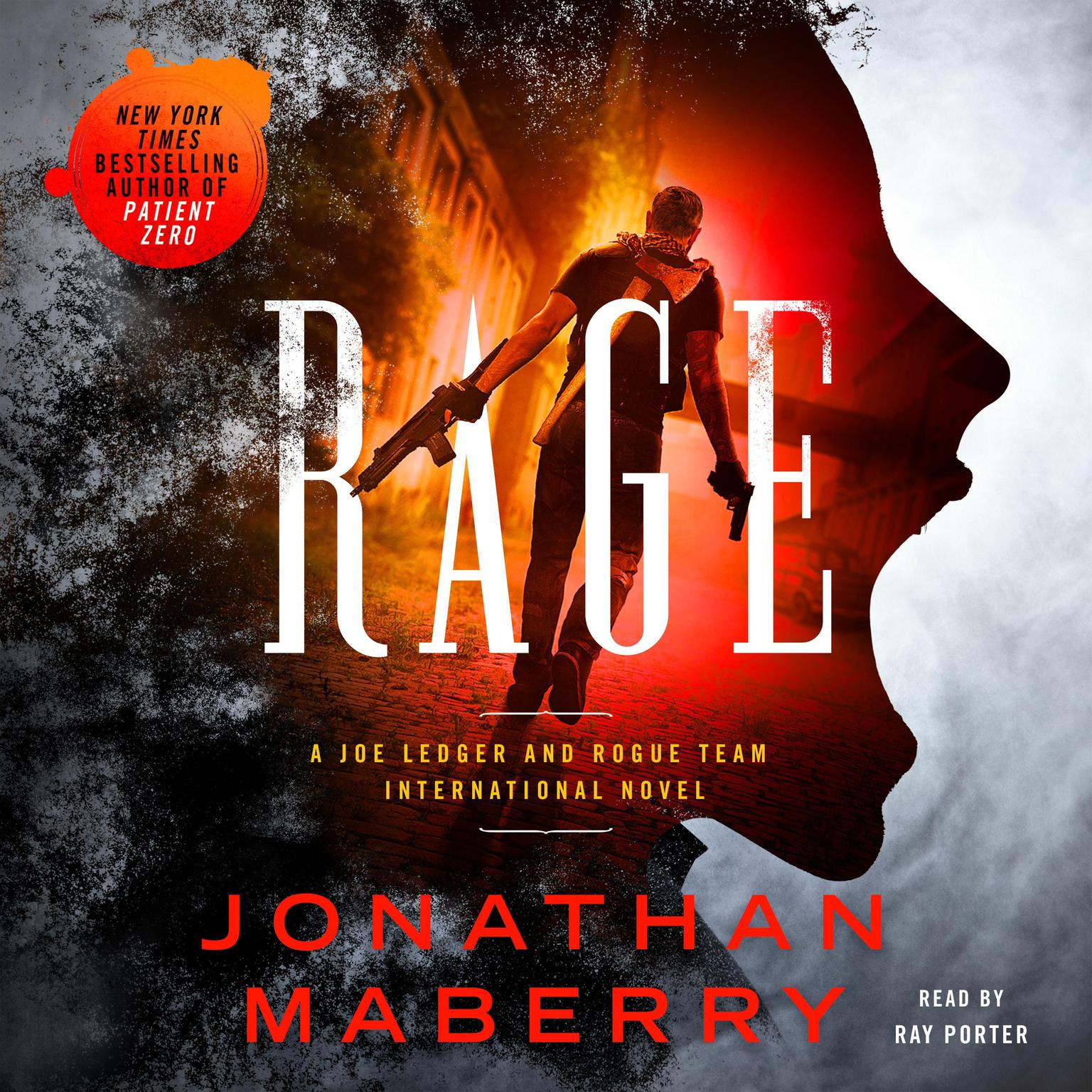 Printable Rage: A Joe Ledger and Rogue Team International Novel Audiobook Cover Art