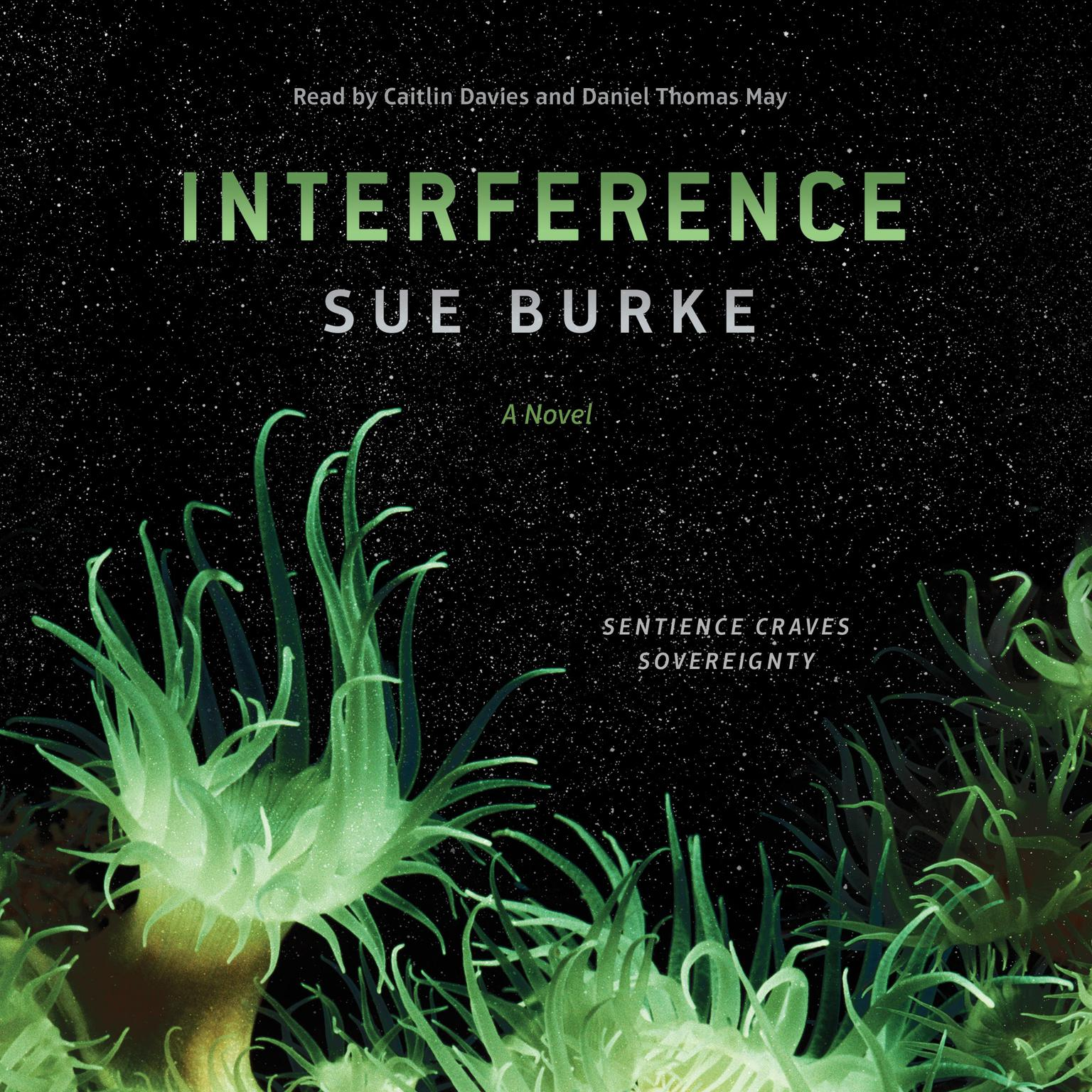 Printable Interference: a novel Audiobook Cover Art