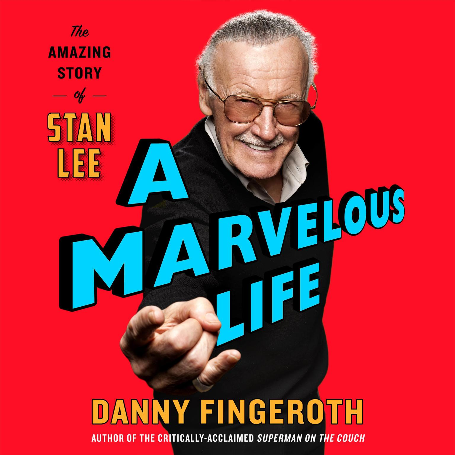 Printable A Marvelous Life: The Amazing Story of Stan Lee Audiobook Cover Art