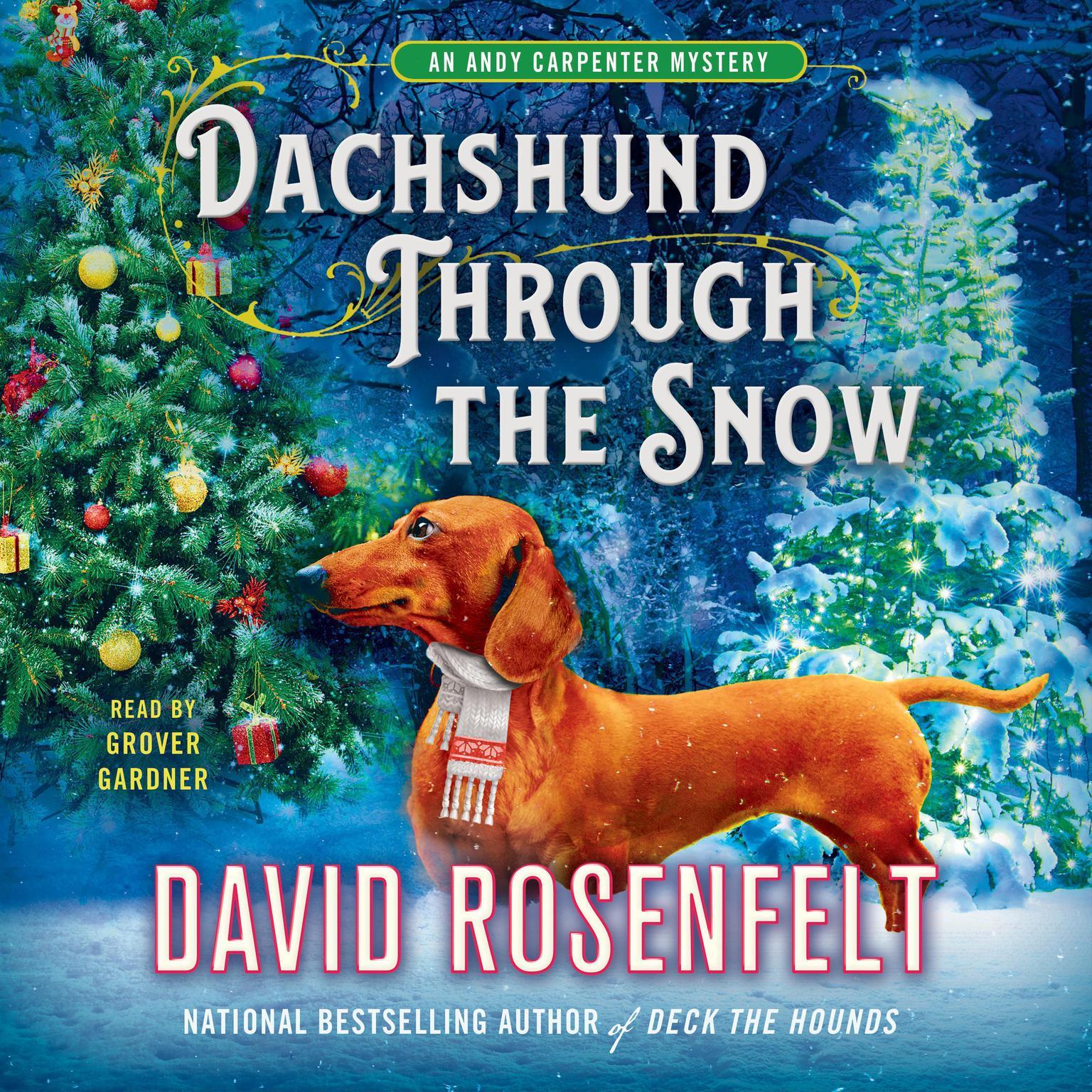 Printable Dachshund Through the Snow: An Andy Carpenter Mystery Audiobook Cover Art