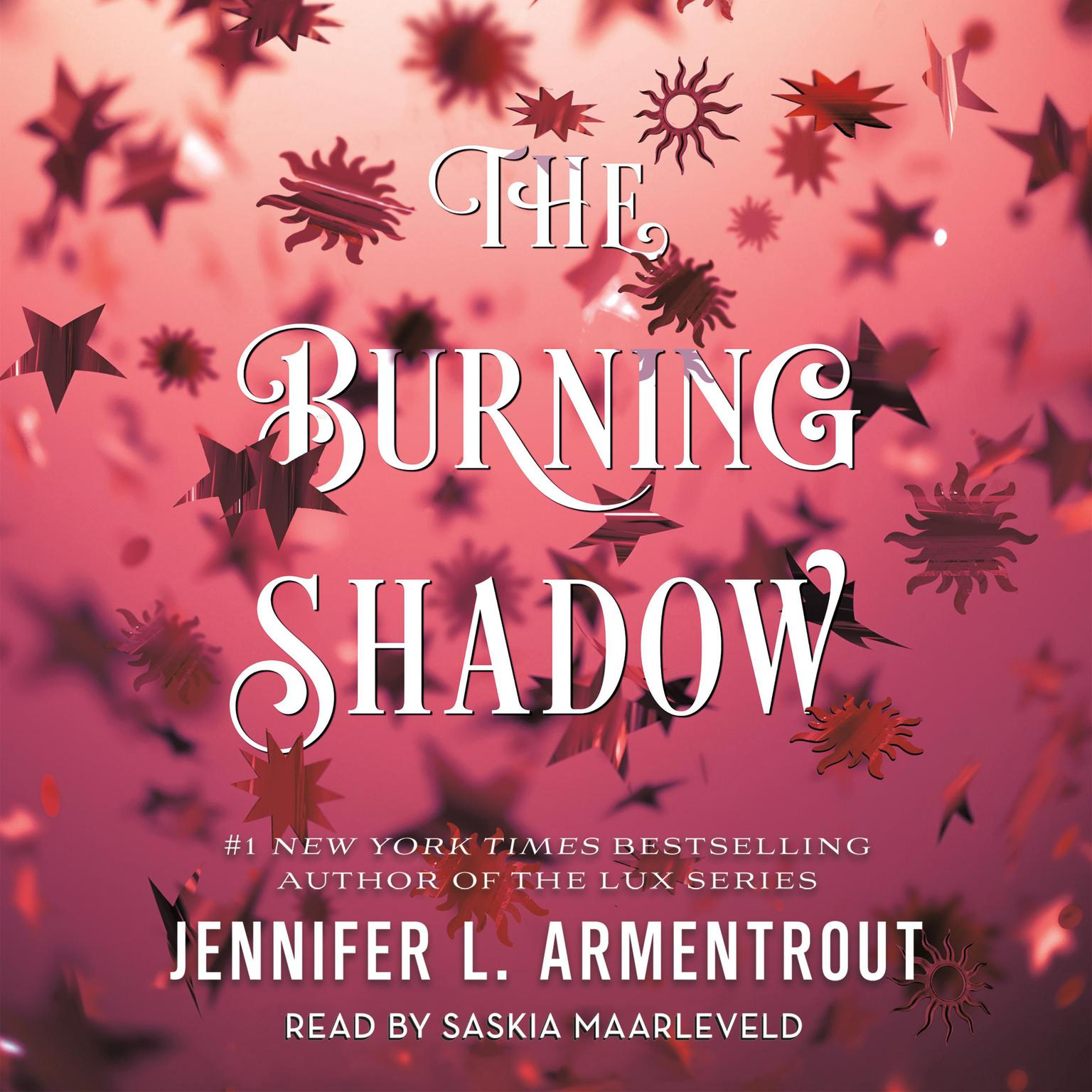 Printable The Burning Shadow Audiobook Cover Art