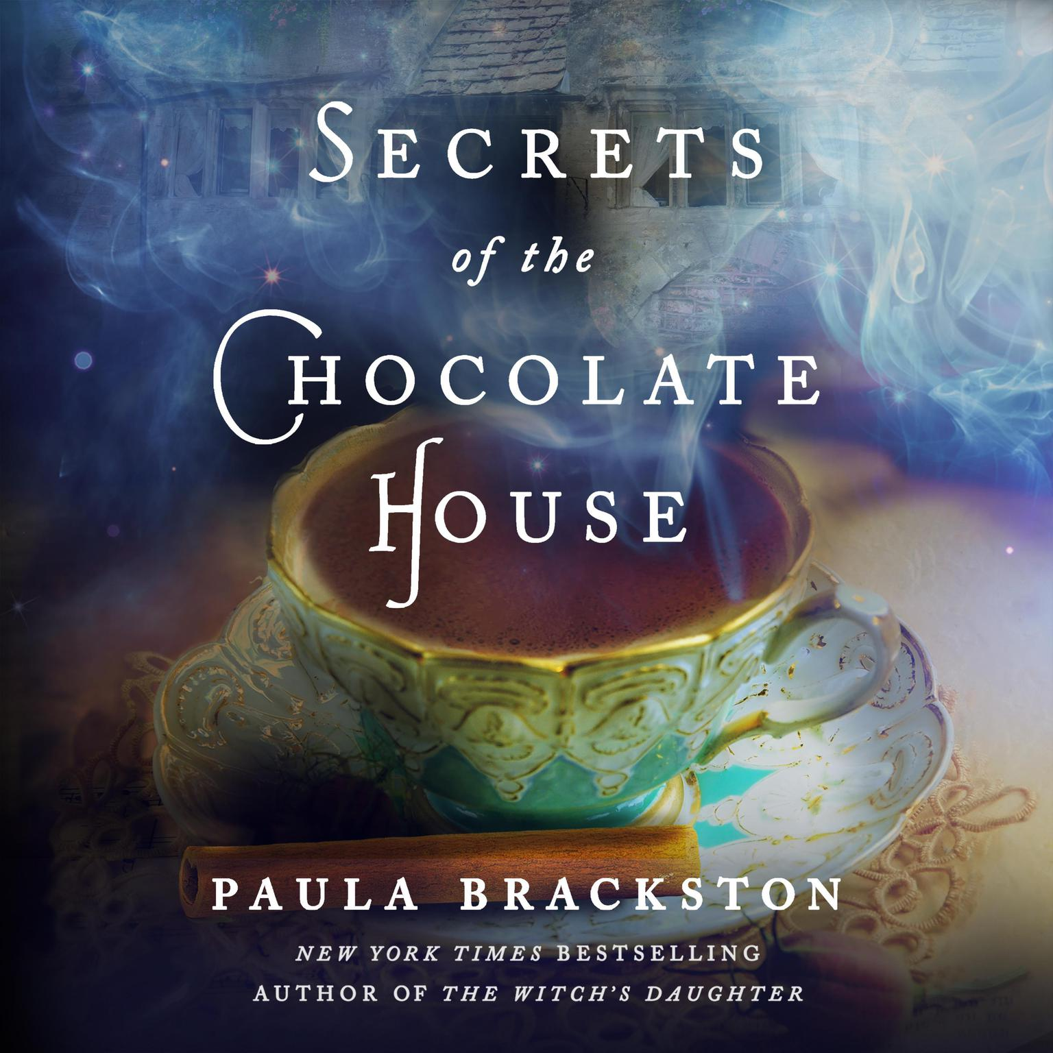Printable Secrets of the Chocolate House Audiobook Cover Art