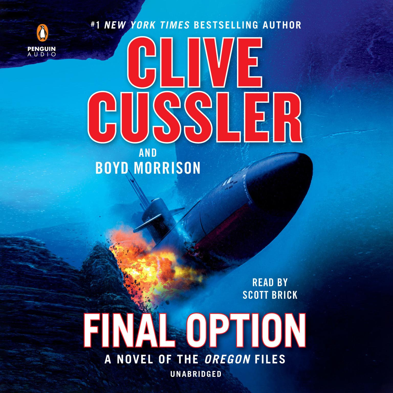 Printable Final Option Audiobook Cover Art