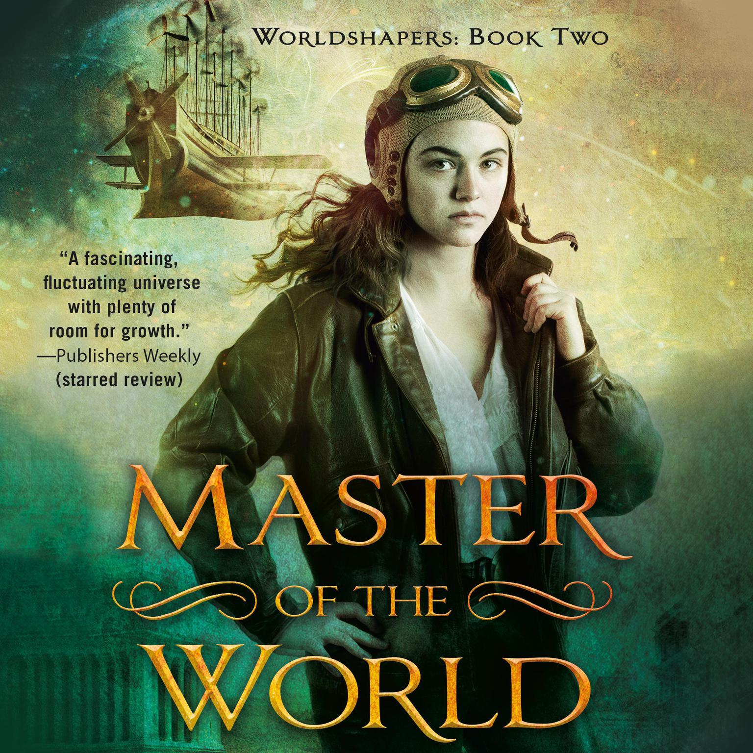 Printable Master of the World Audiobook Cover Art