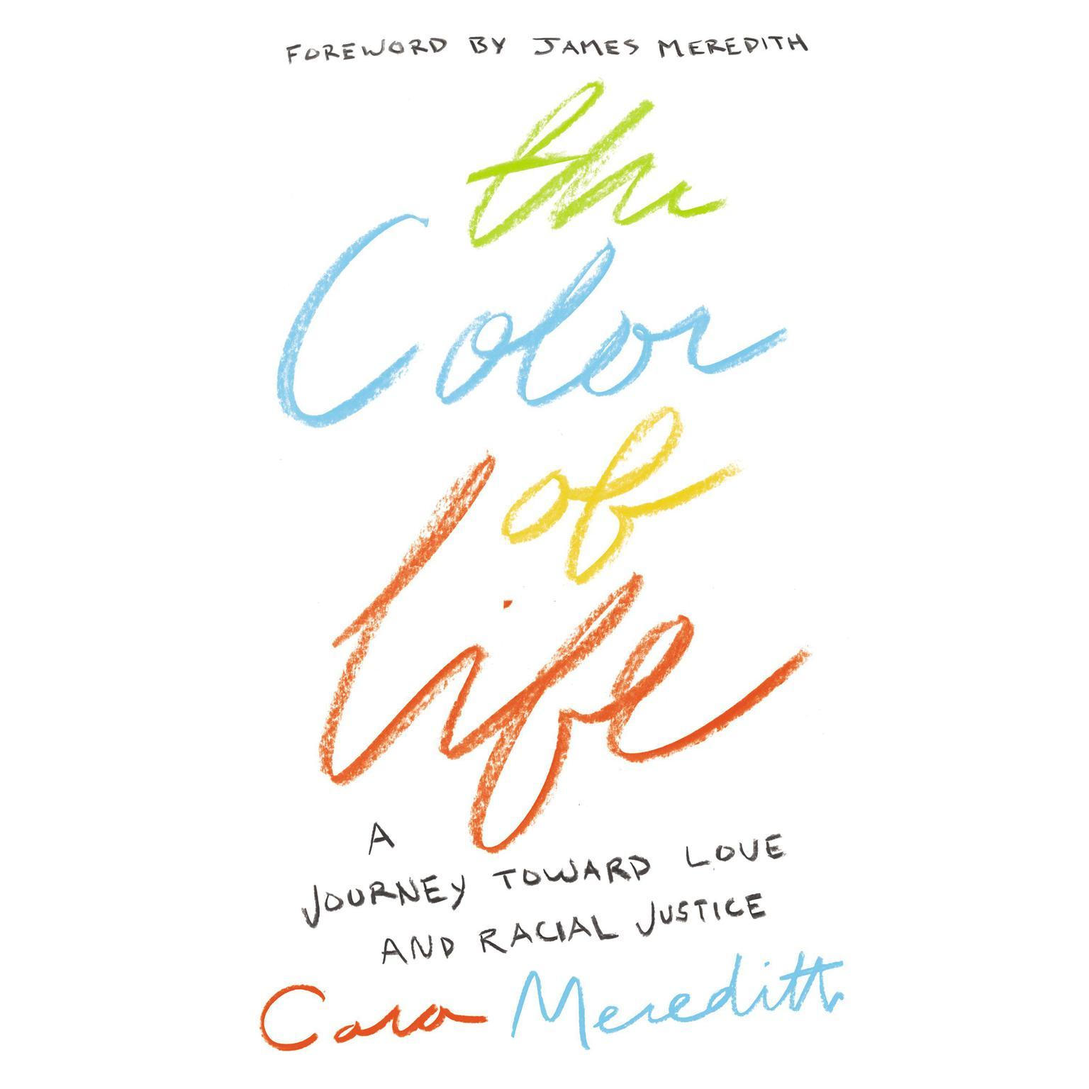 Printable The Color of Life: A Journey toward Love and Racial Justice Audiobook Cover Art
