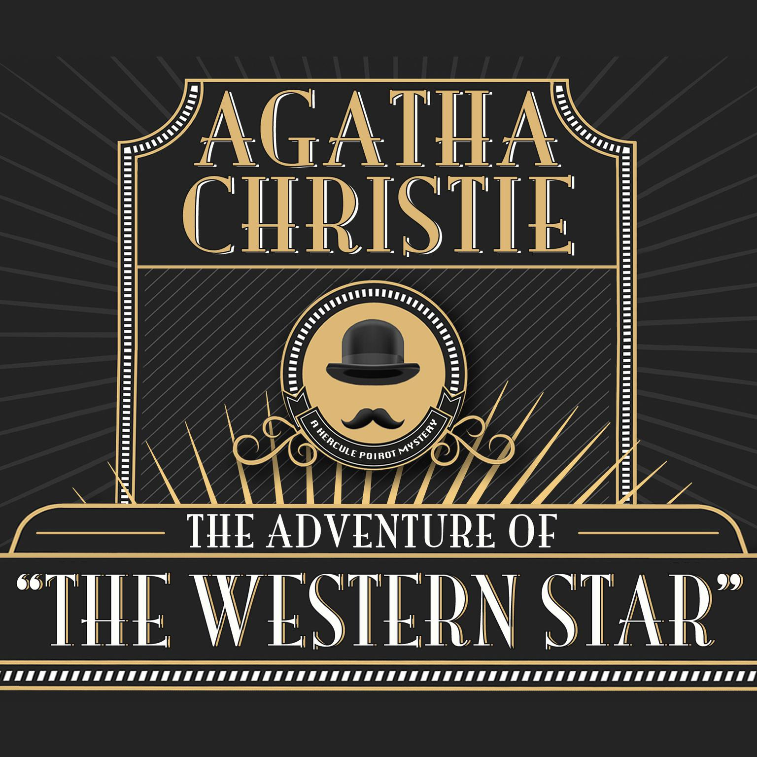 Printable The Adventure of the Western Star Audiobook Cover Art