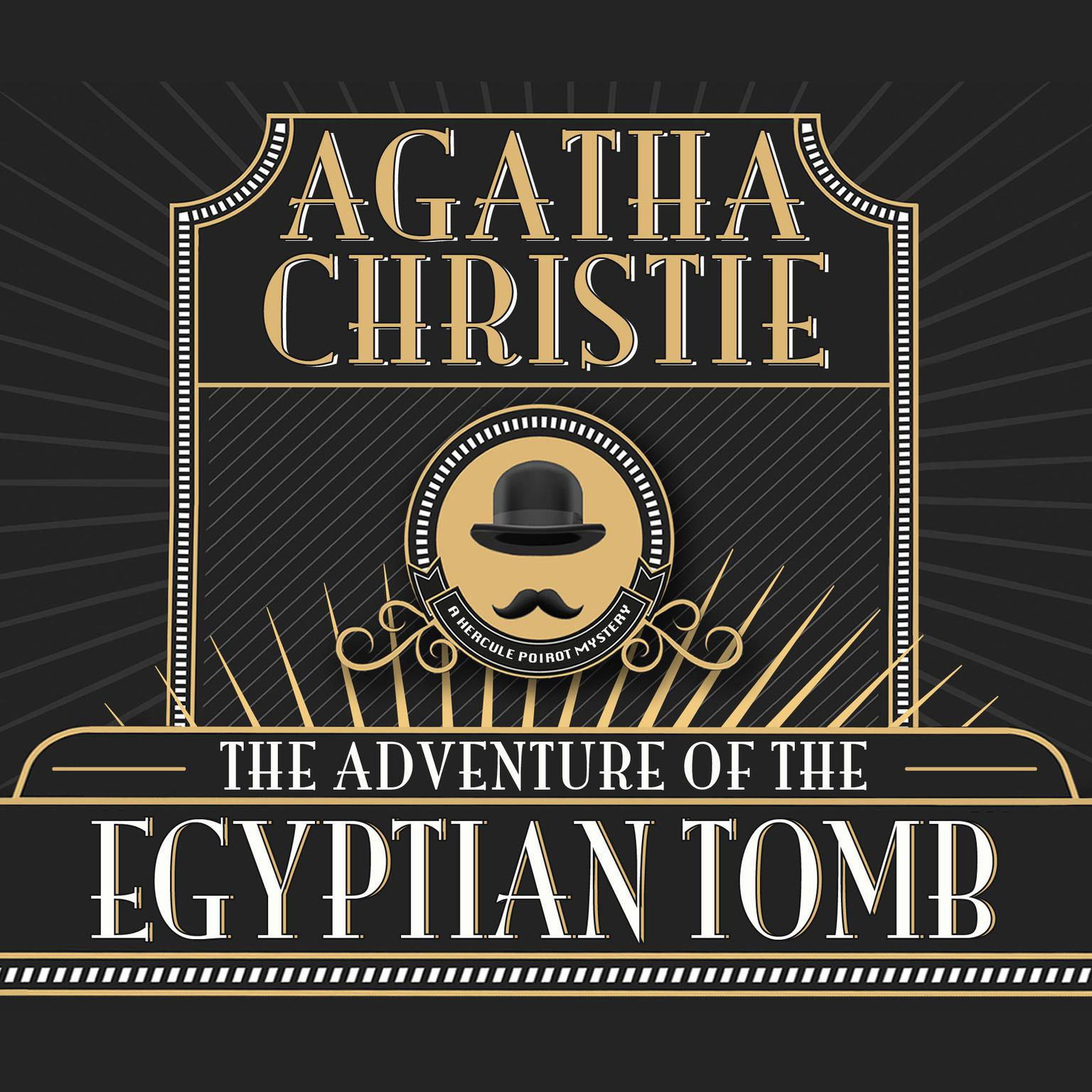 Printable The Adventure of the Egyptian Tomb Audiobook Cover Art