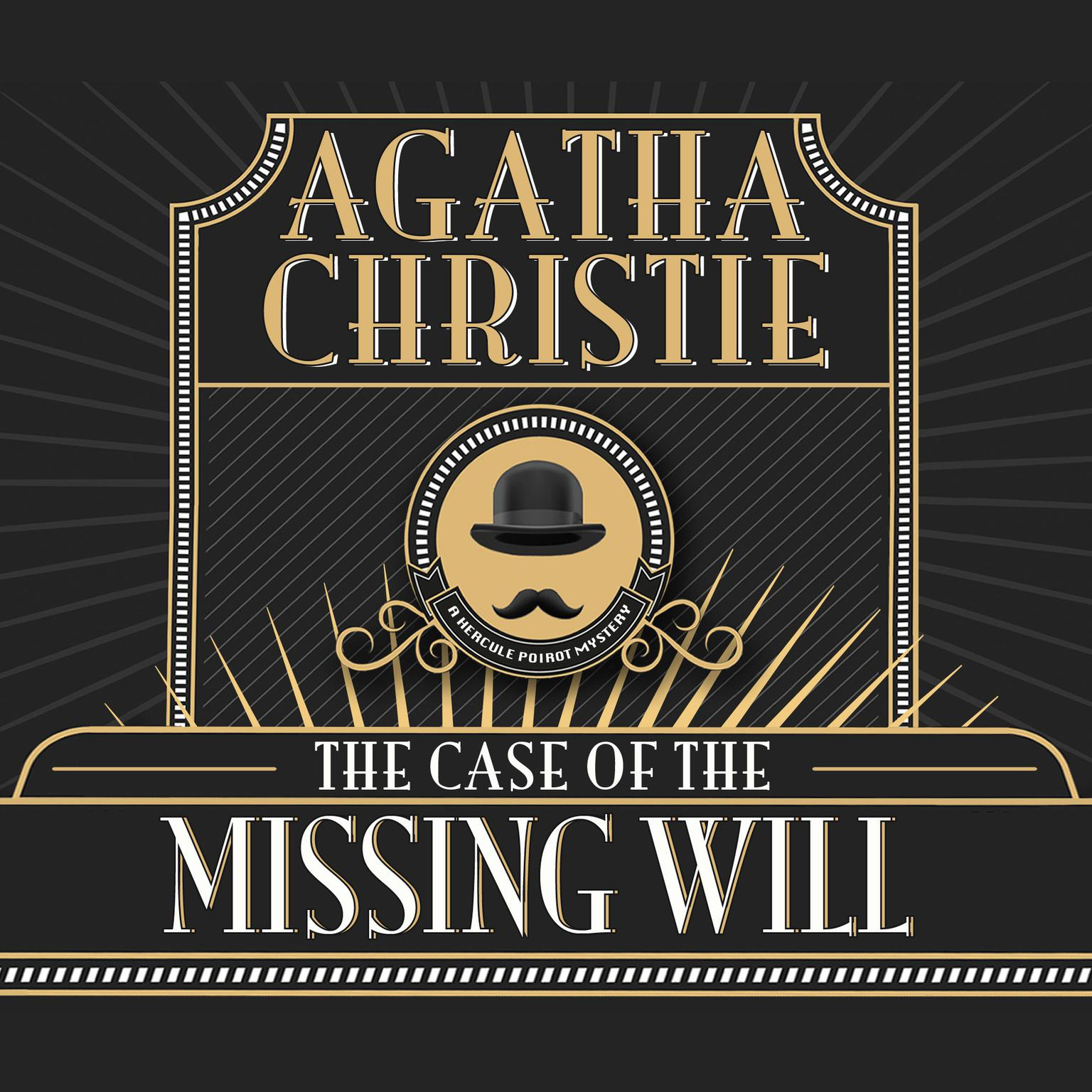 Printable The Case of the Missing Will Audiobook Cover Art